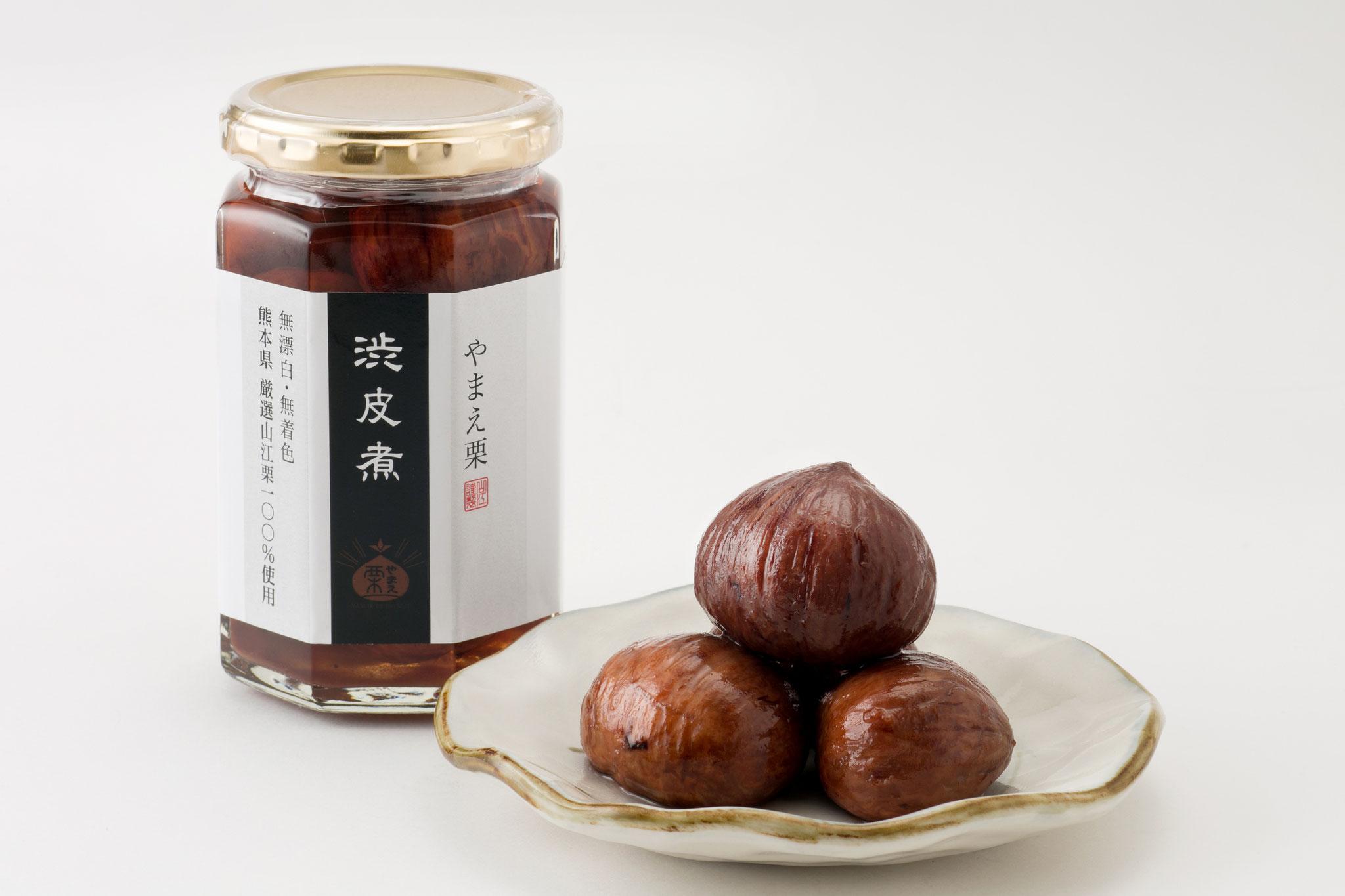 Shibukawa-ni Standard (marron cuit avec des peaux âpres)