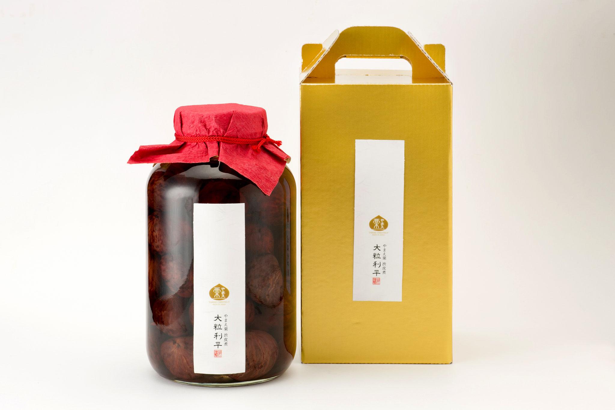 Yamae-Guri Ôtsubu Rihei (le plus grand marron de Yamae cuit aux sucres)