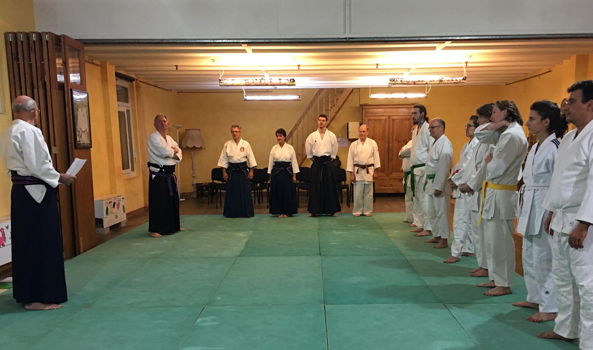 Respecter la tradition ( Rei Shiki 礼式)