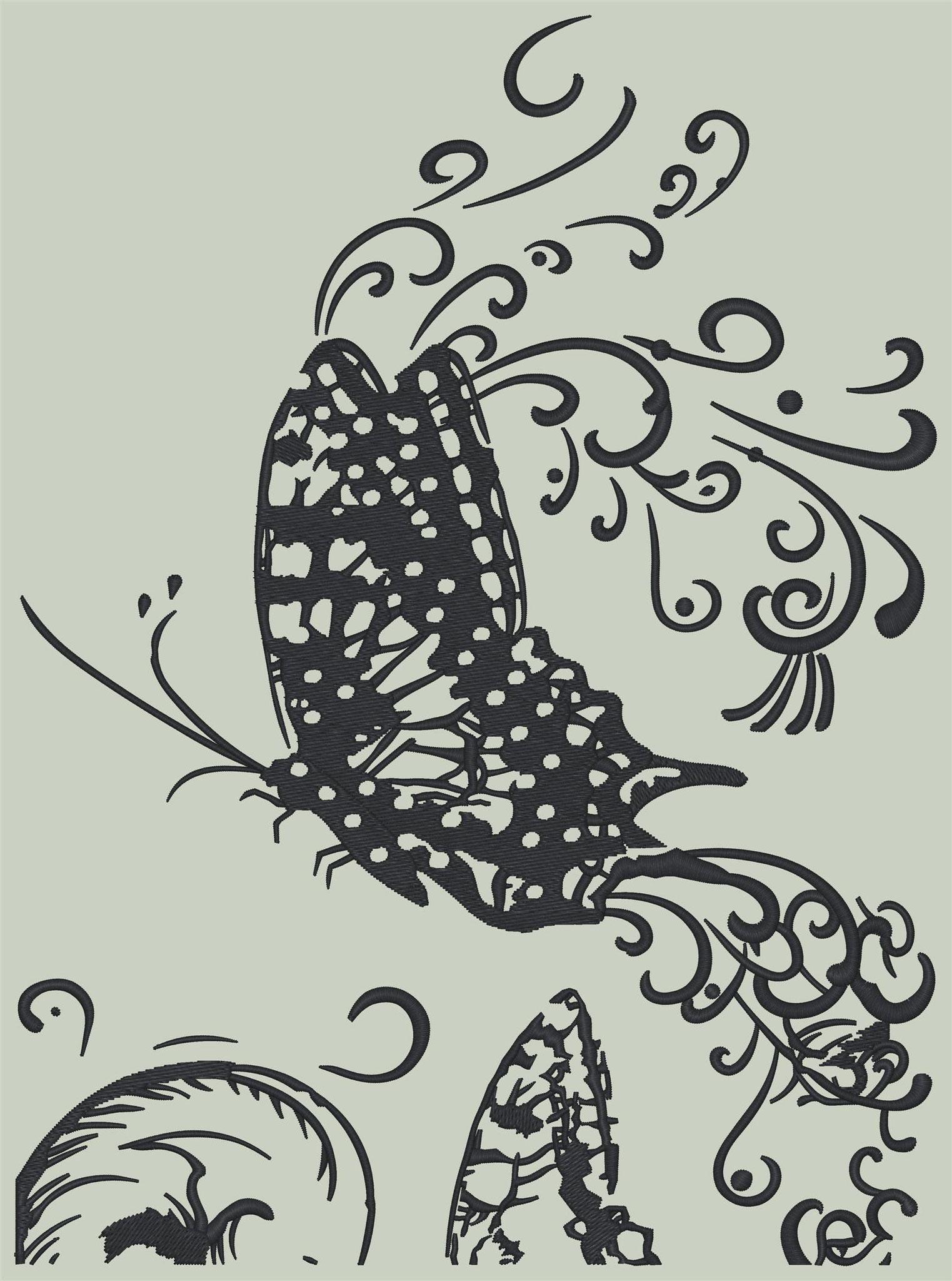 Schmetterling / Nr.: Schm_01 / 15cm x 20cm