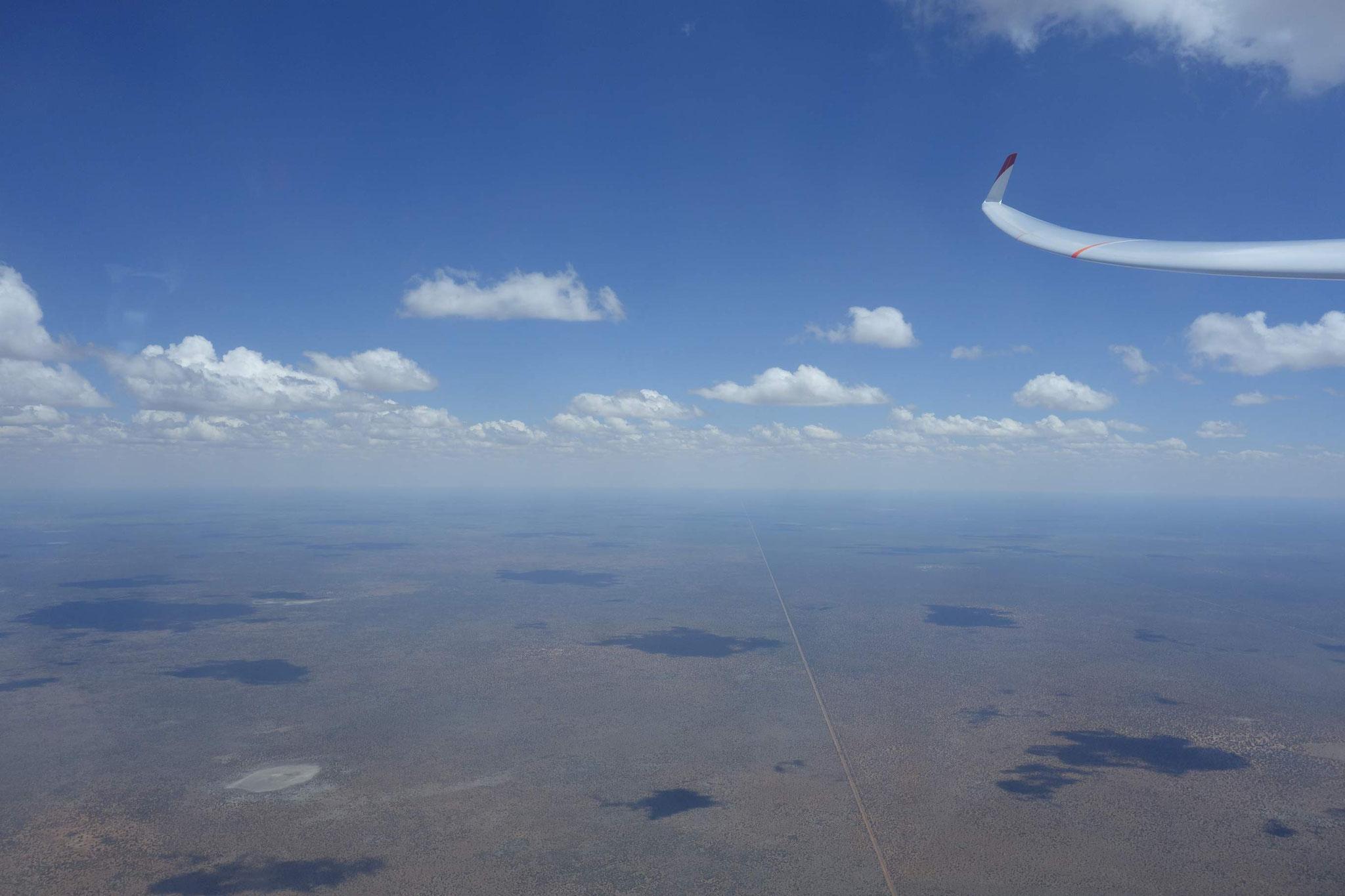 Grenzzaun zu Botswana