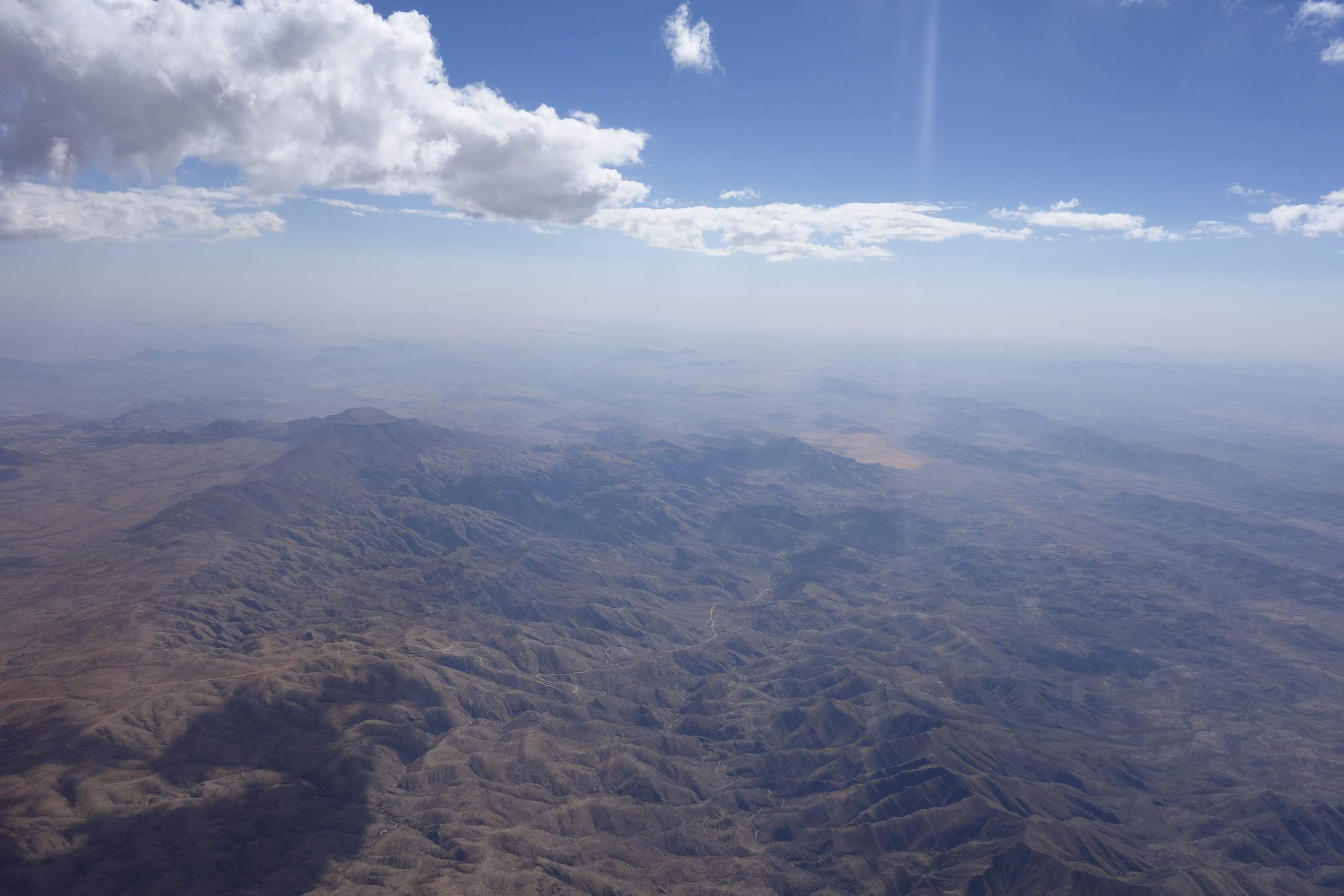 Gamsberg mit Blick auf die Namib