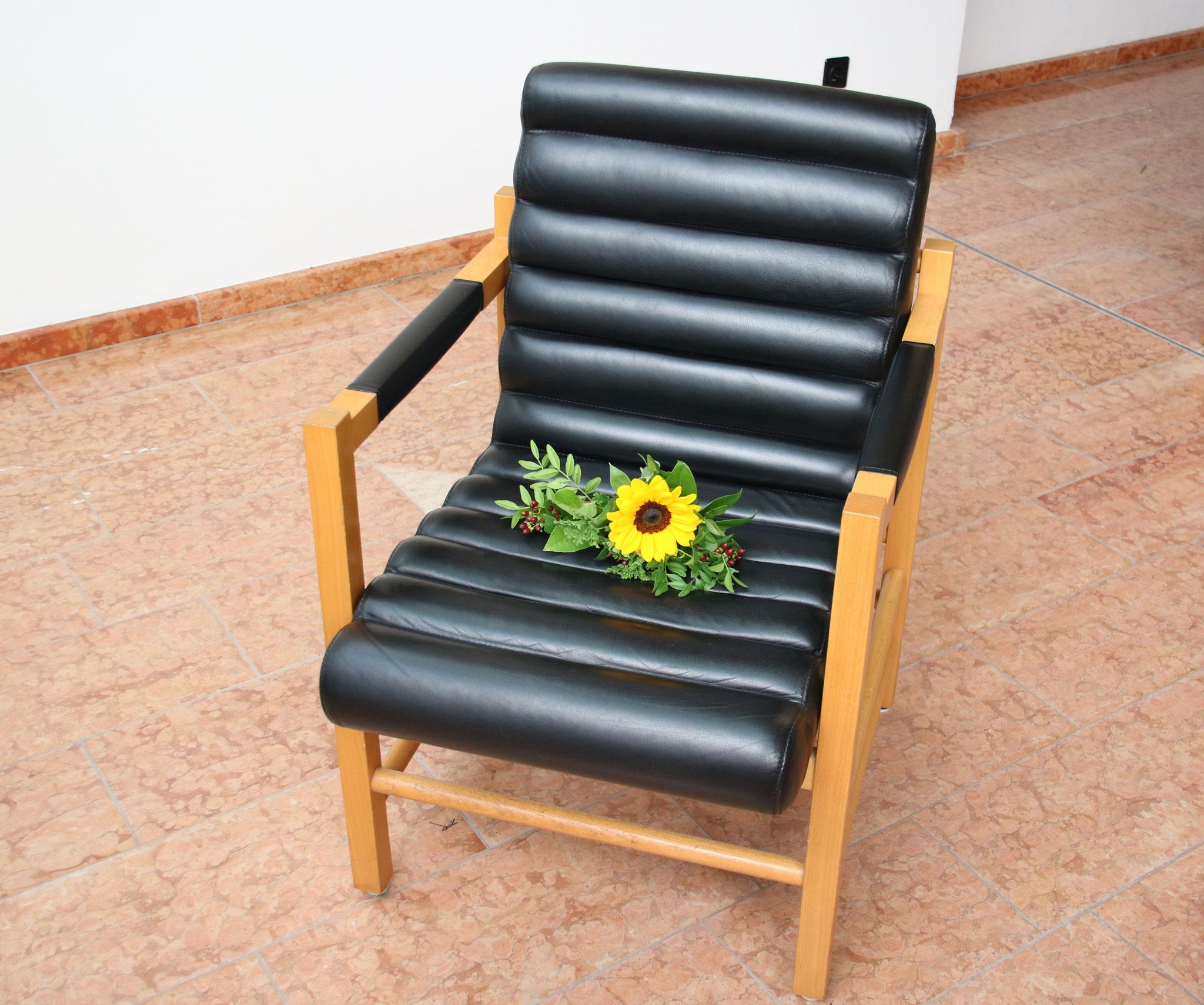 ... ohne den wenige Tage vorher tödlich verunglückten Trauzeugen Sven
