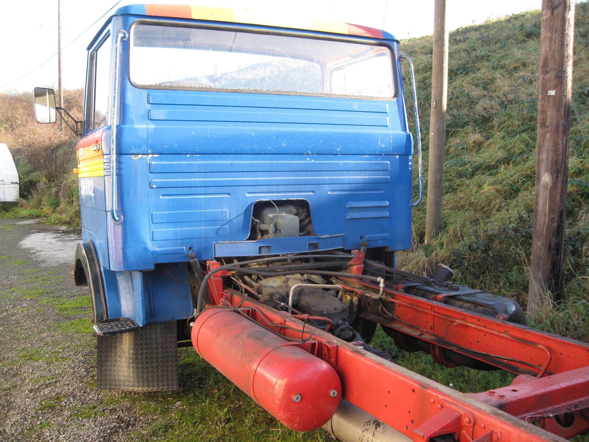 Das alte Fahrgestell ohne Windenmodul wurde noch verkauft