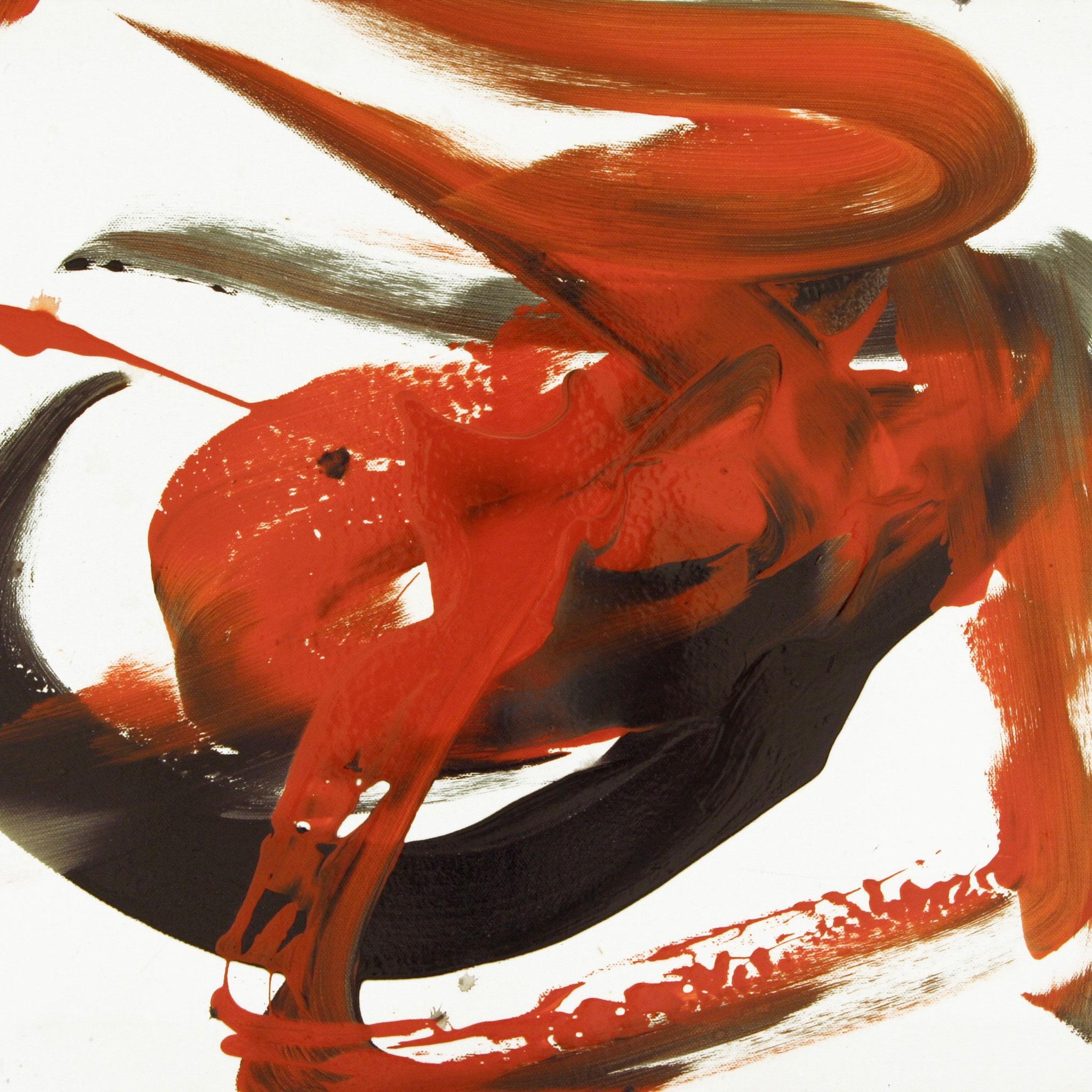 Barito 0132, 2012, Fingerfarben auf Leinwand, 50 x 70 cm