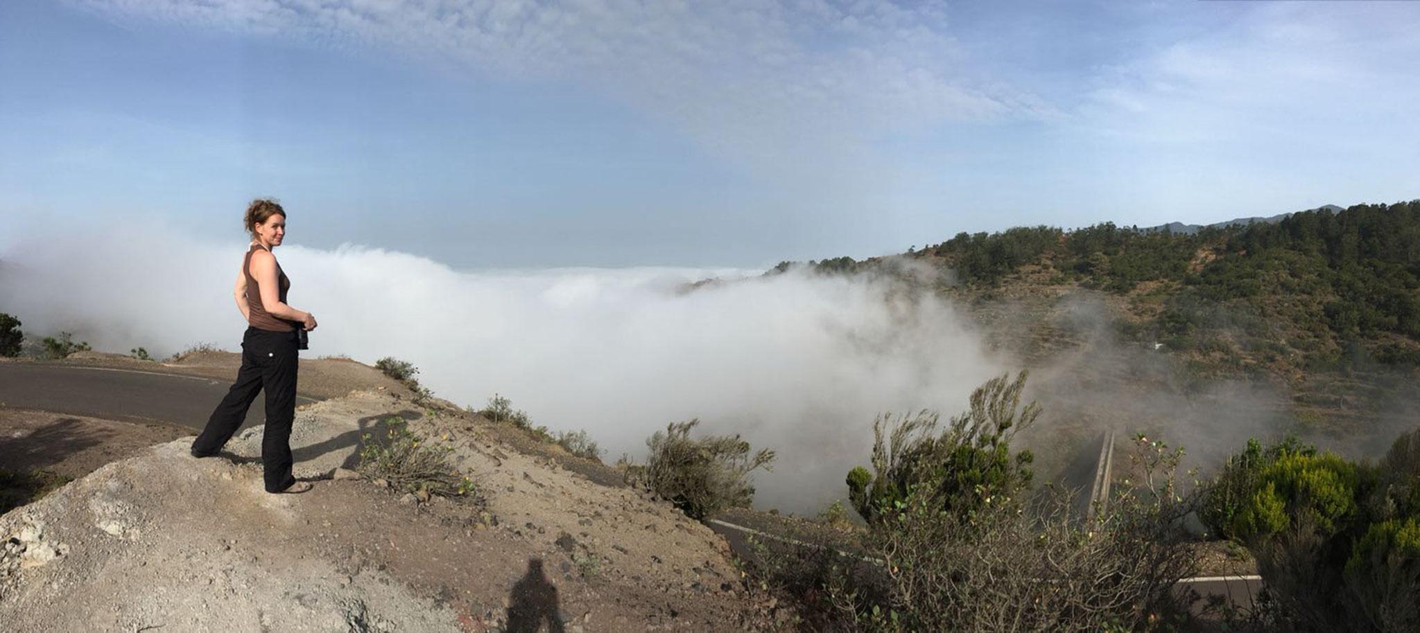 Agulo, Spanien - Las Nieblas – Wandernde Nebel