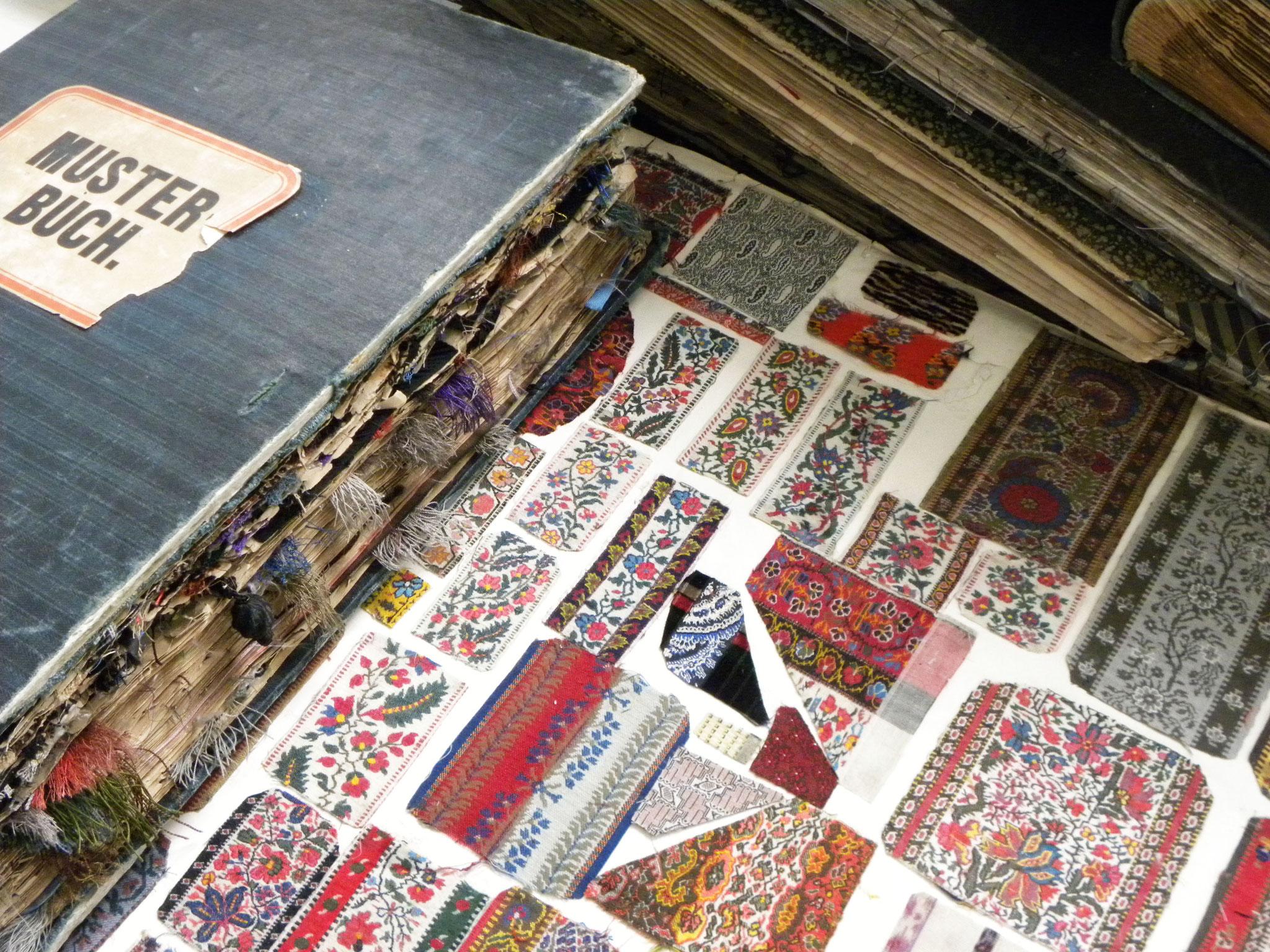 Webereimuseum im Textilen Zentrum - Musterbuch, @Christine Leitner
