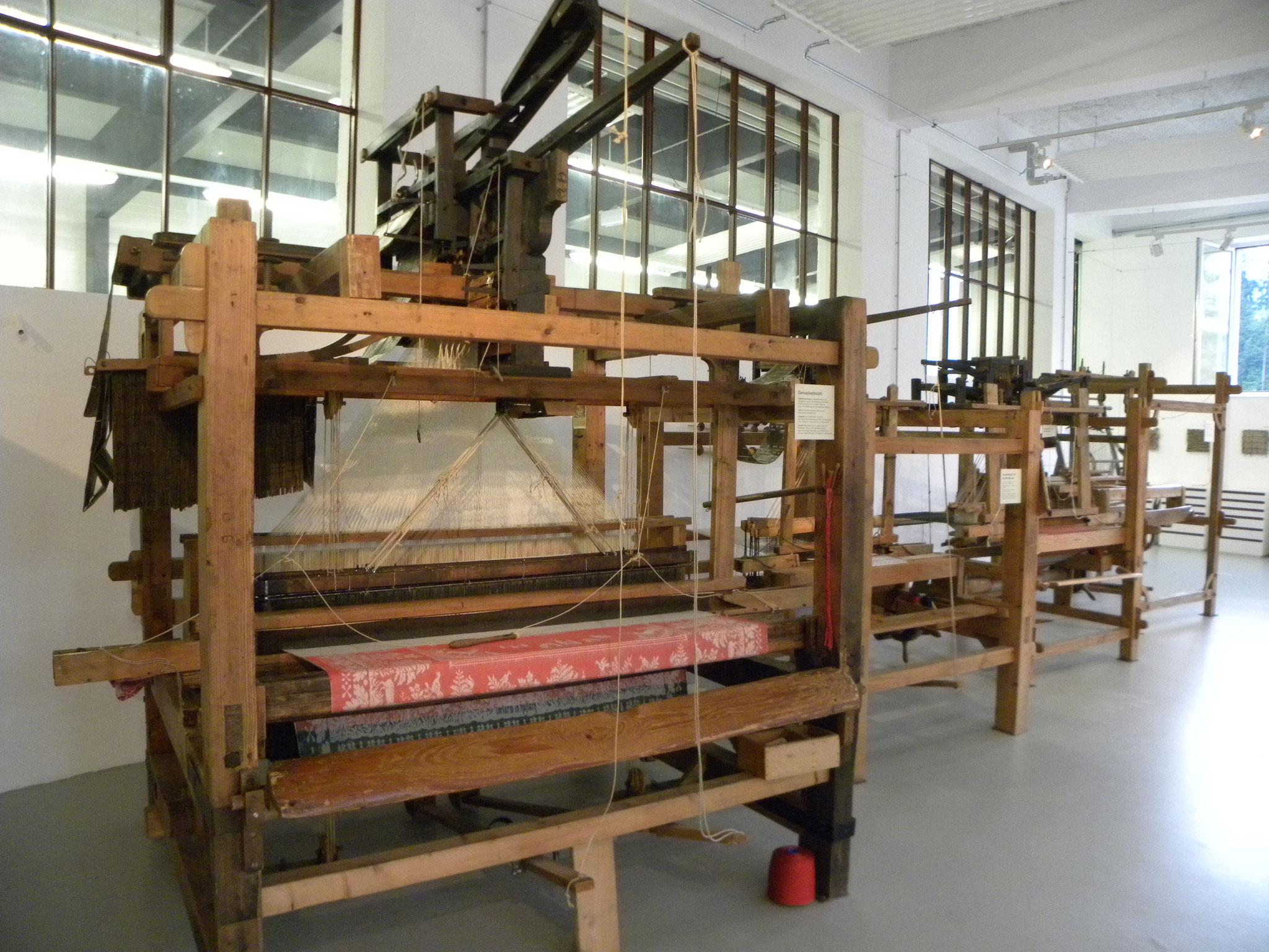 Webereimuseum im Textilen Zentrum - Handwebstuhl, @Christine Leitner
