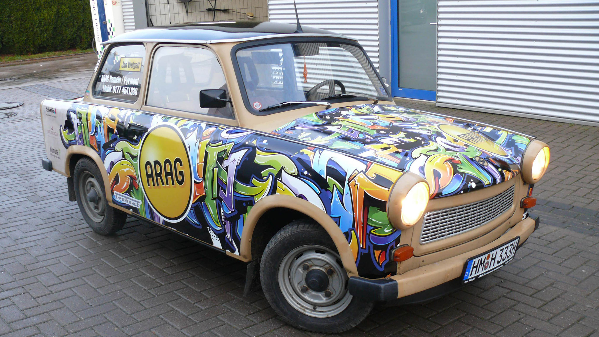 Oldtimer Trabant