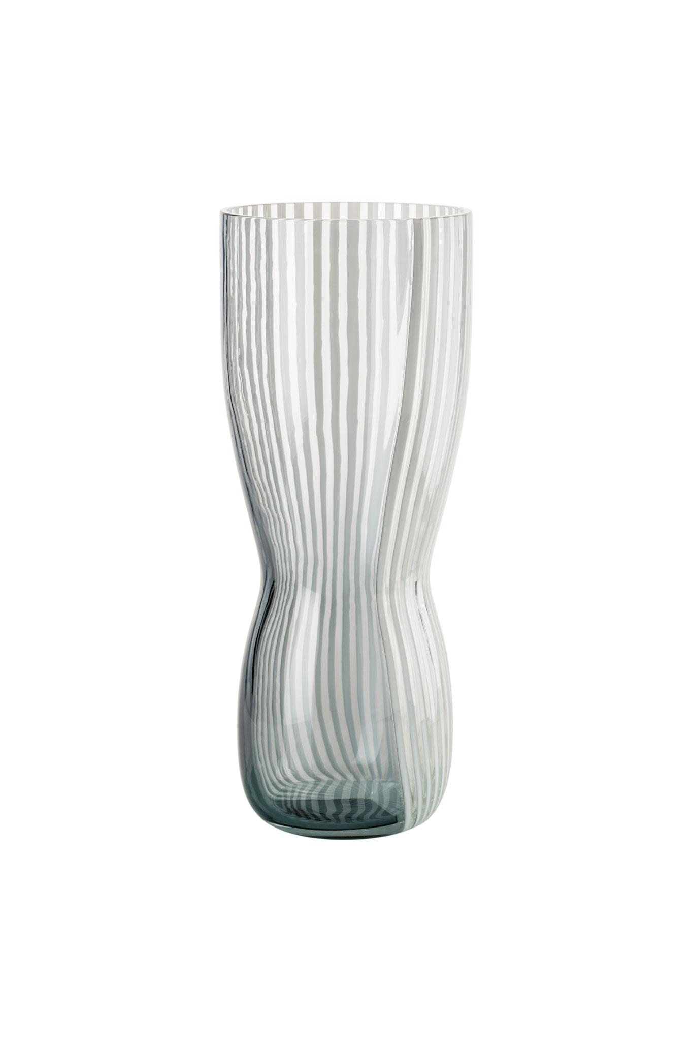 VENINI, Vase CINETICI lattimo, nummerierte Edition