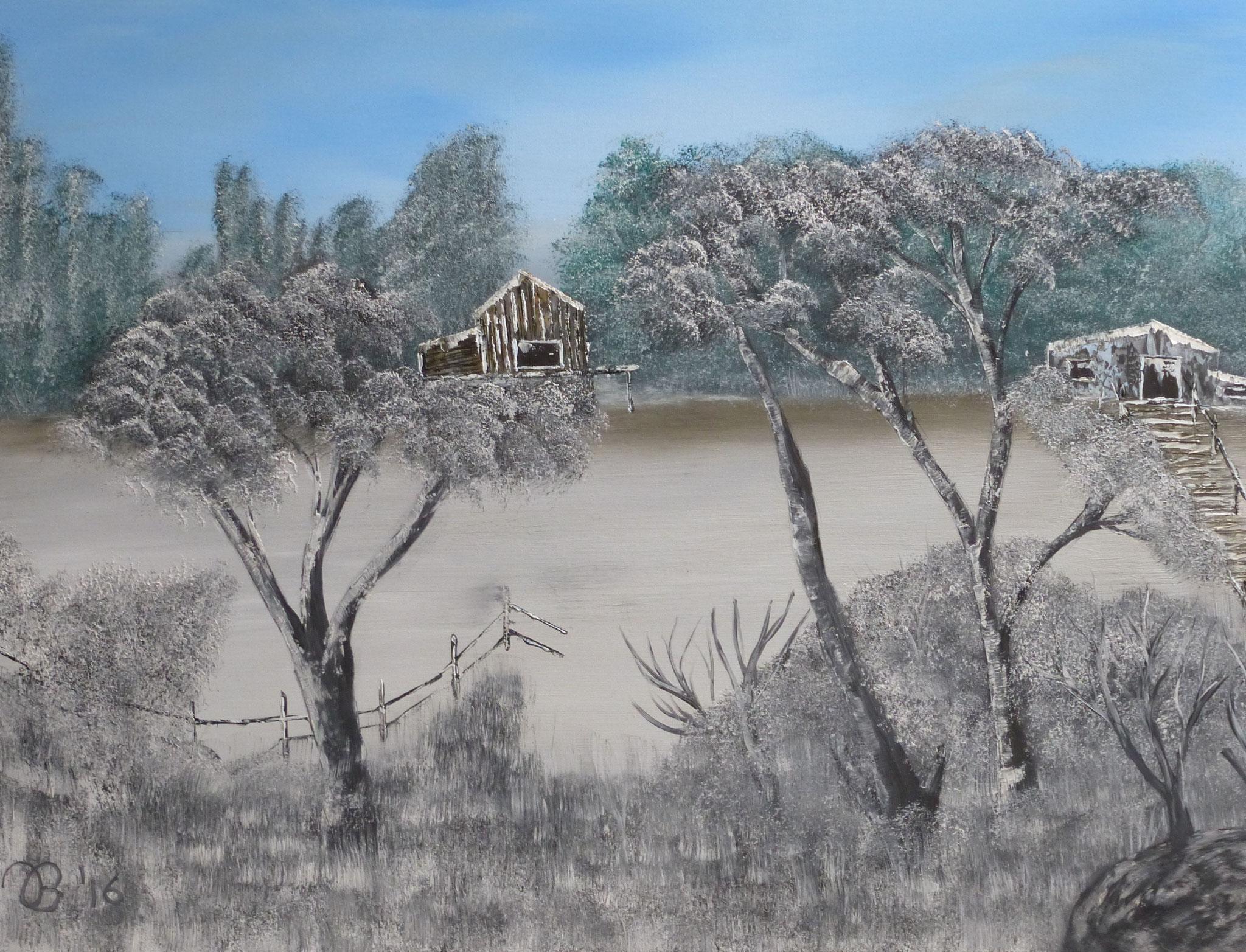 (83)     Finnischer Wald     80 cm x 60 cm