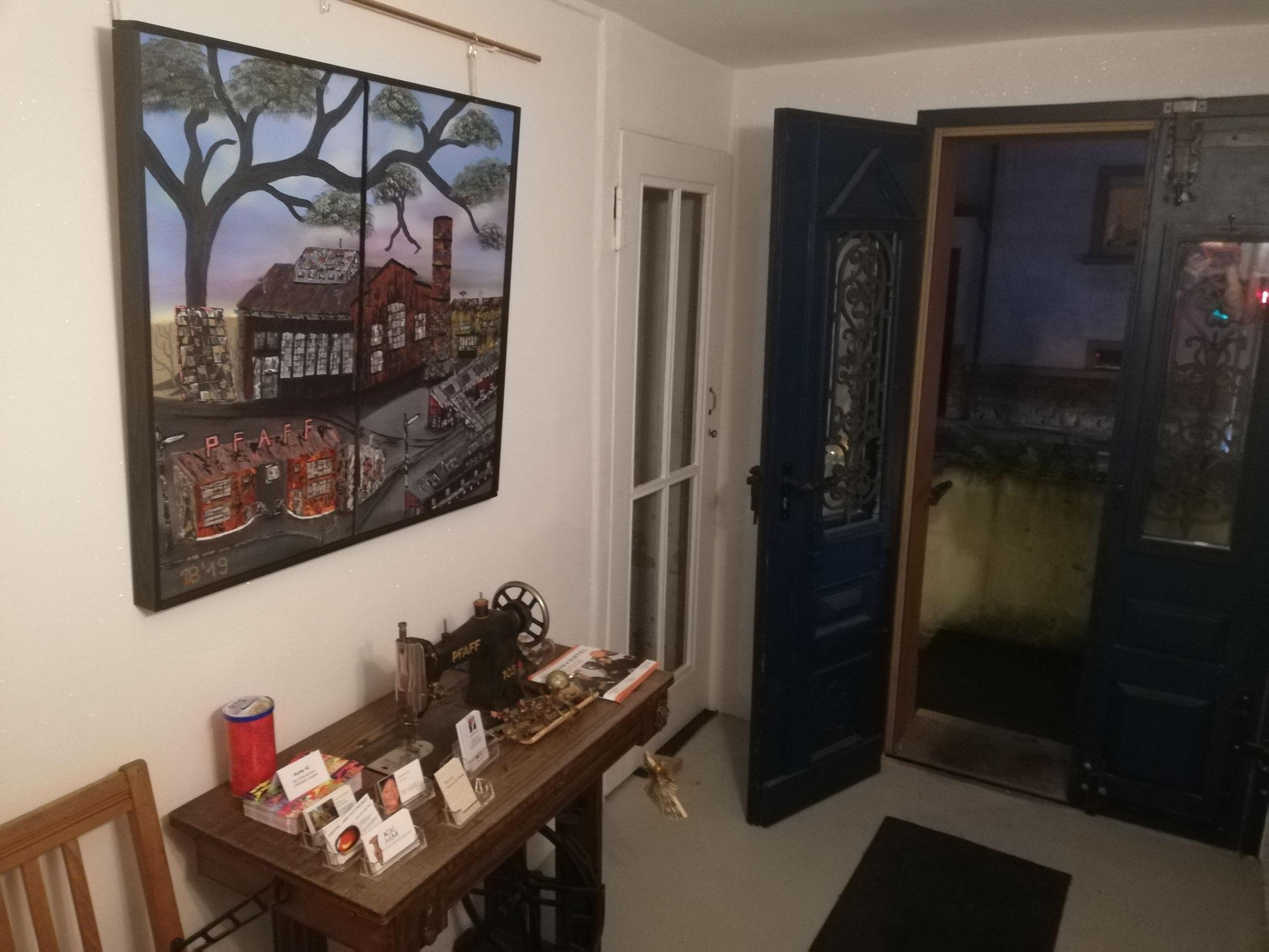 Eingang im Künstlerhaus