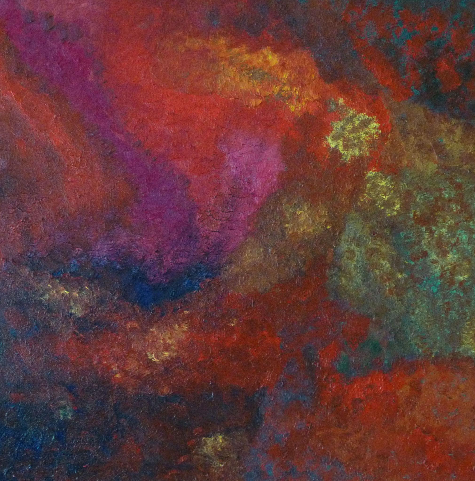 Farbenspiele-1     50 cm x 50 cm