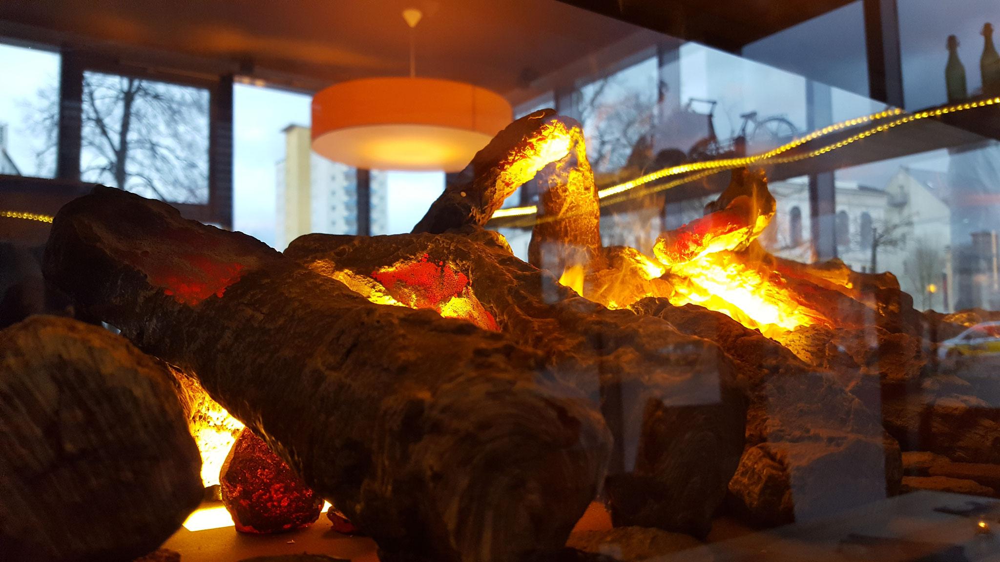 The Flame - Highlight des neuen Gastraums 2016