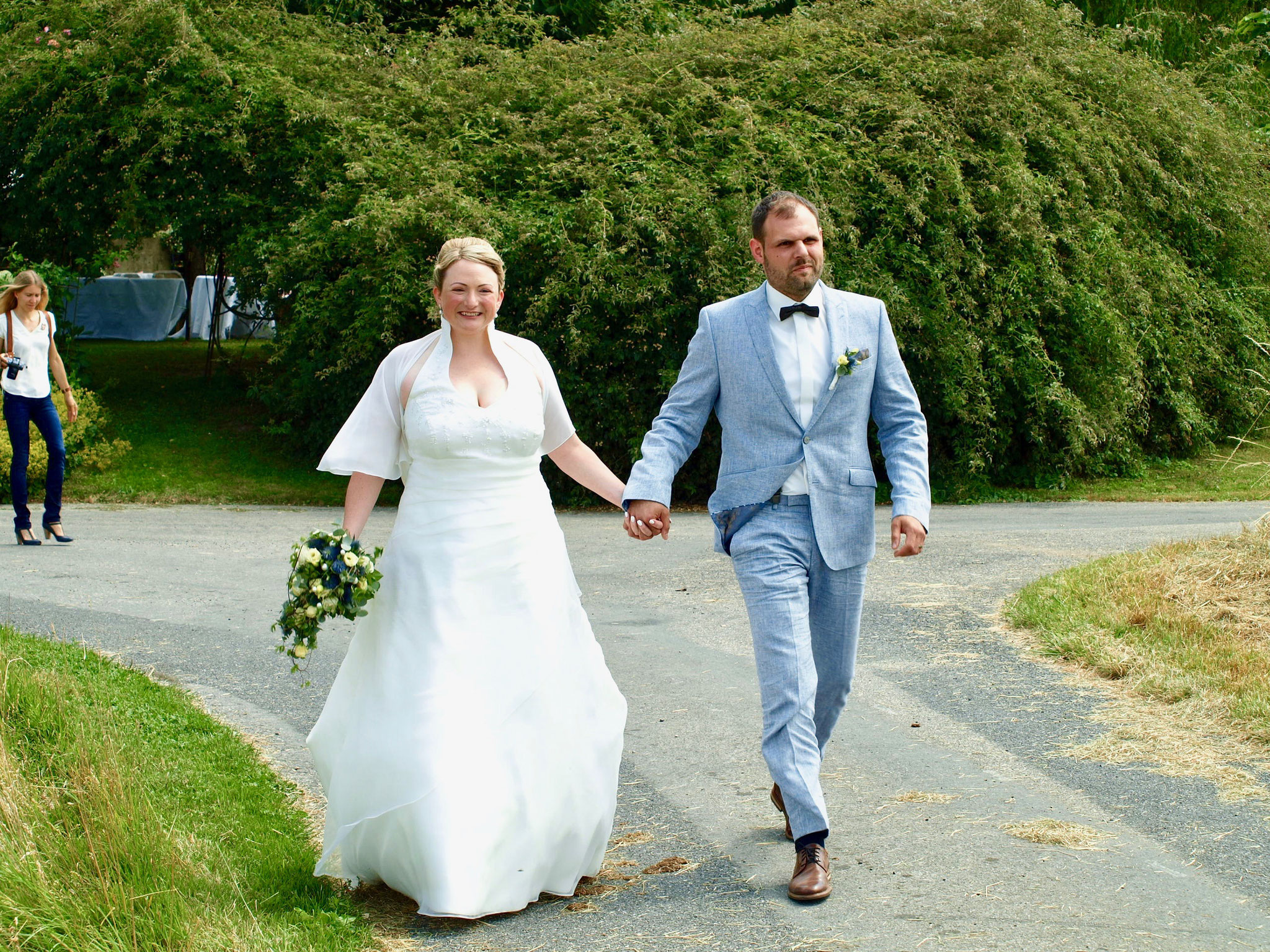Das wunderhübsche Hochzeitspaar