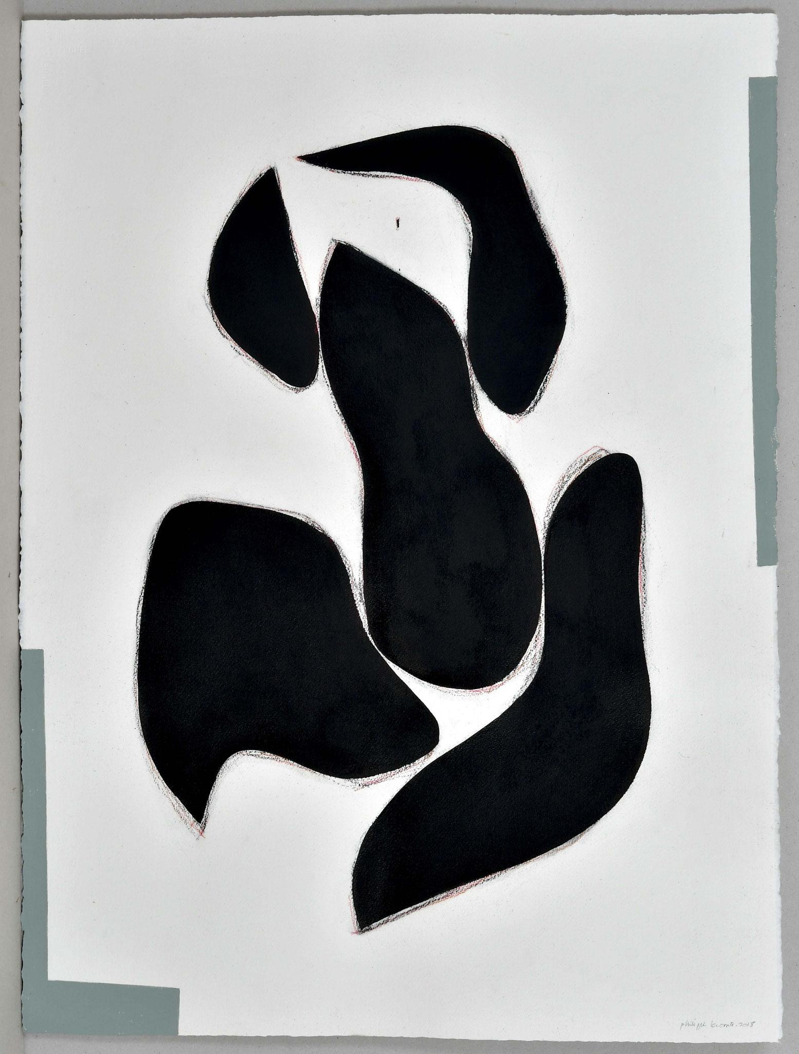 Papier / 56,5x76