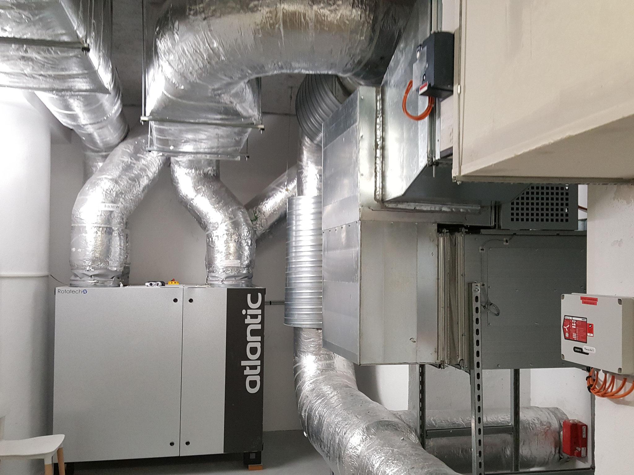 Local technique ventilation