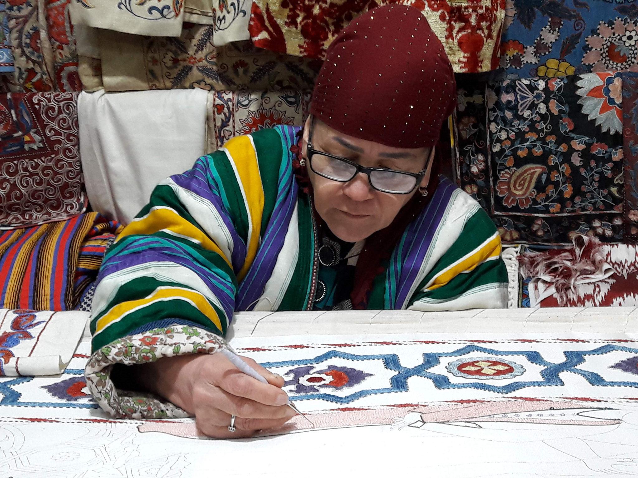 L'artisanat en Asie centrale