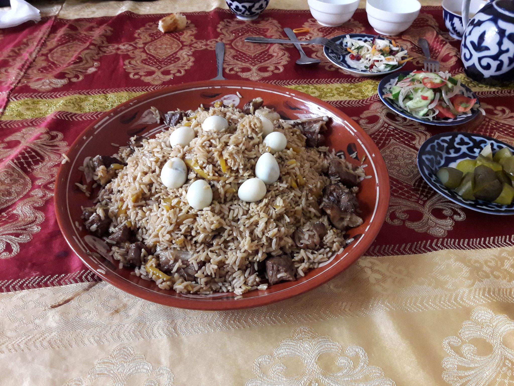 Un plat d'Asie centale : le plov
