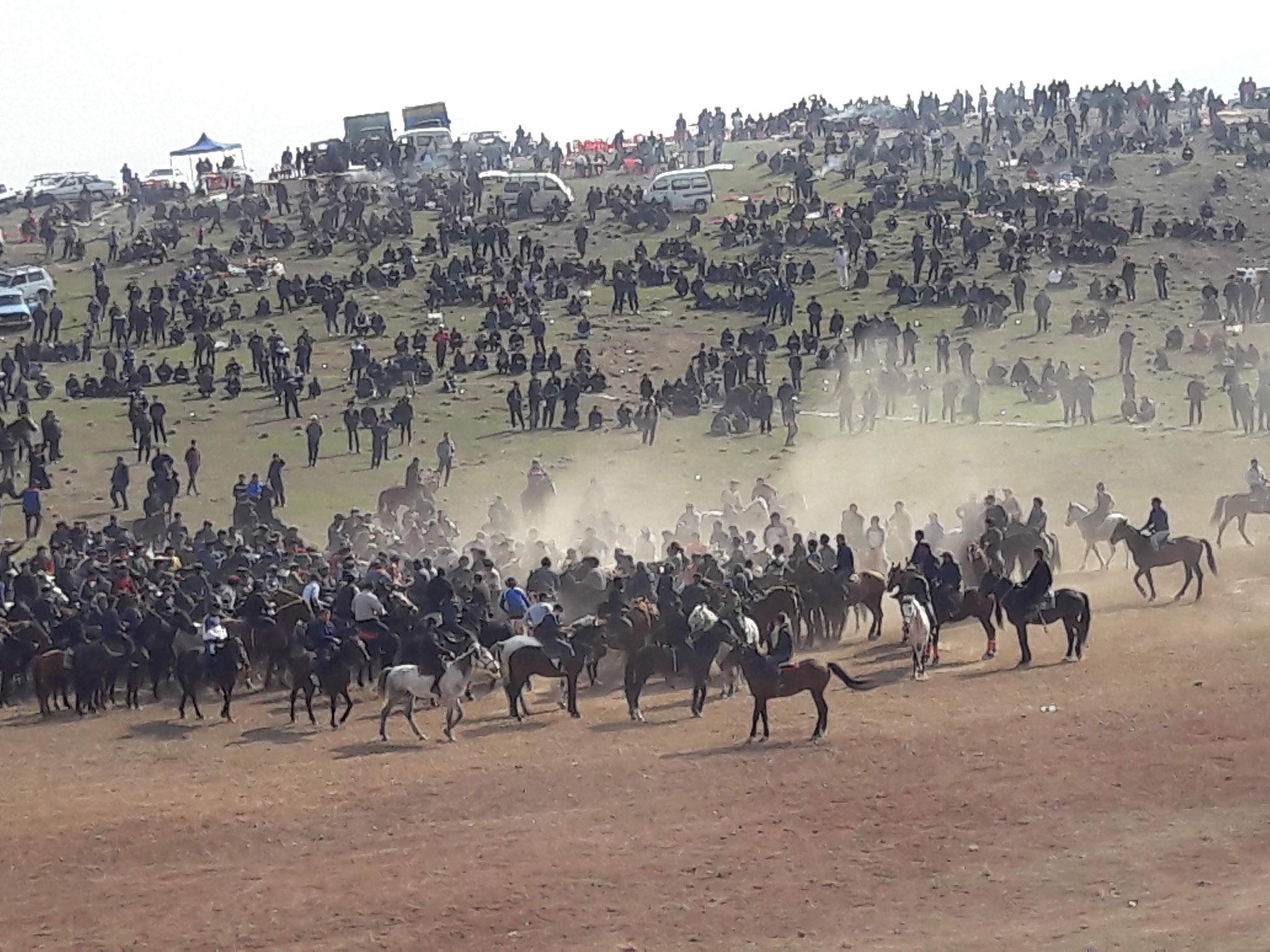 Le bouzkachi, un sport d'Asie centrale