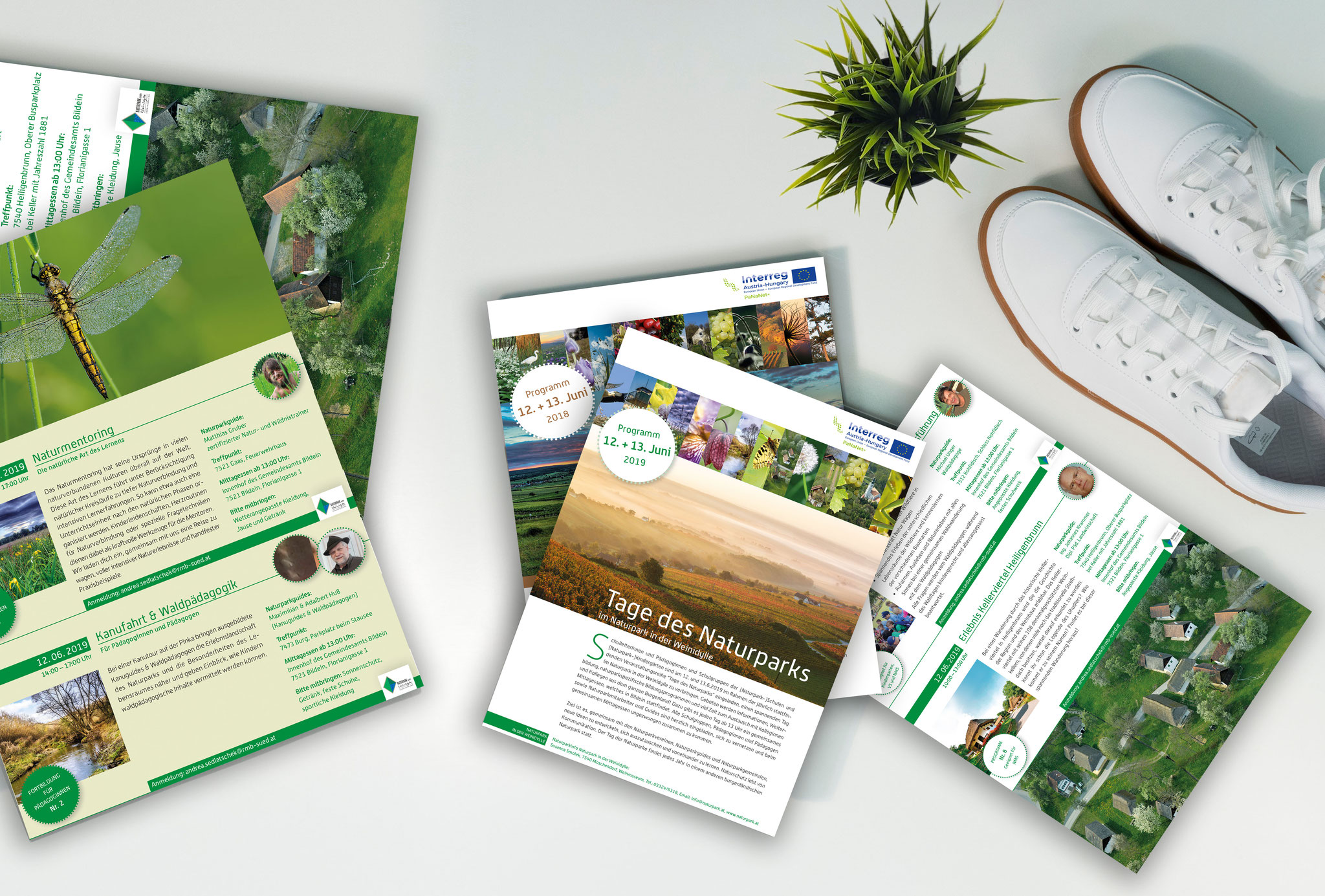 Naturparke Burgenland | Direct Mail