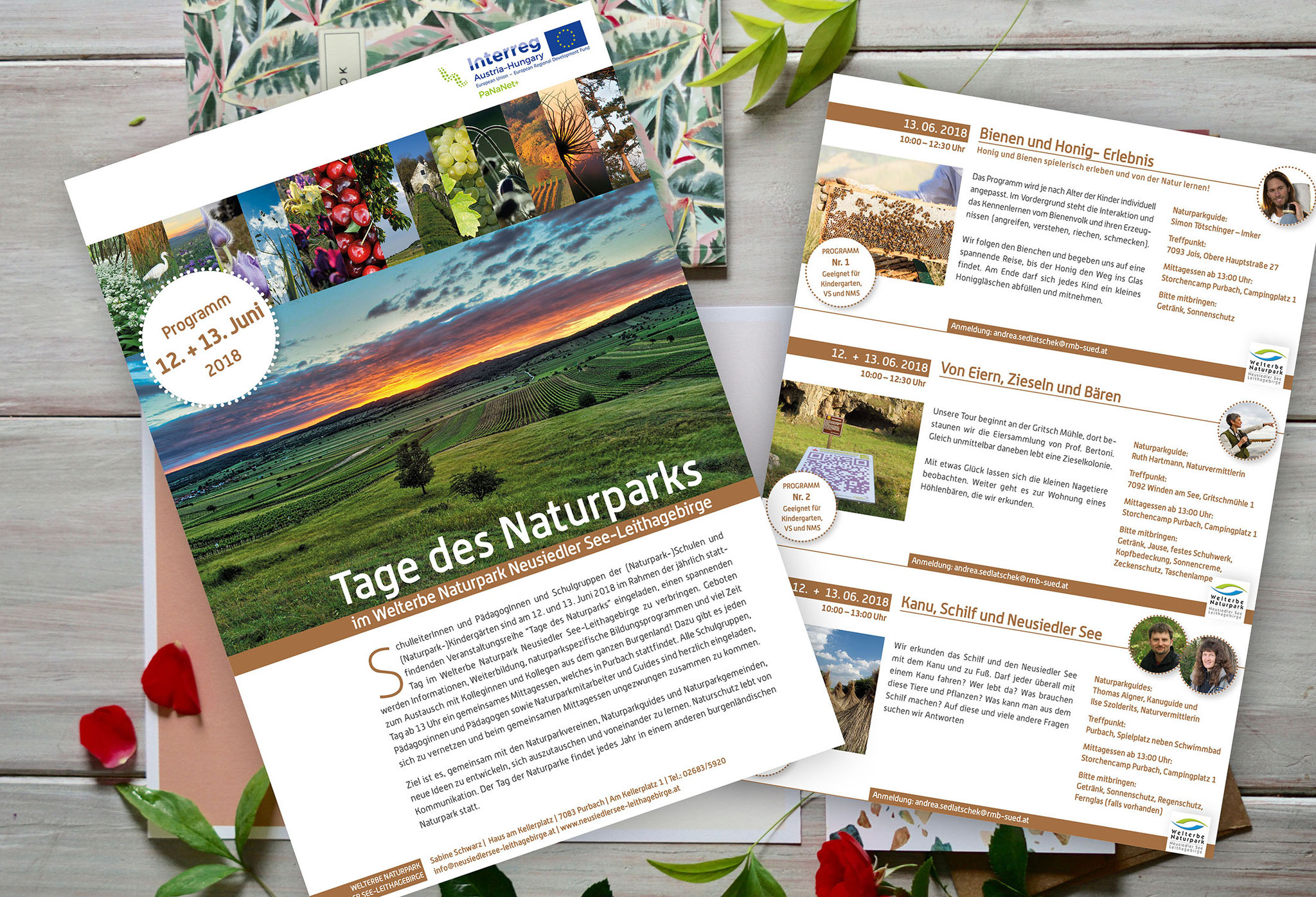 Naturpark Neusiedlersee | Prospekt