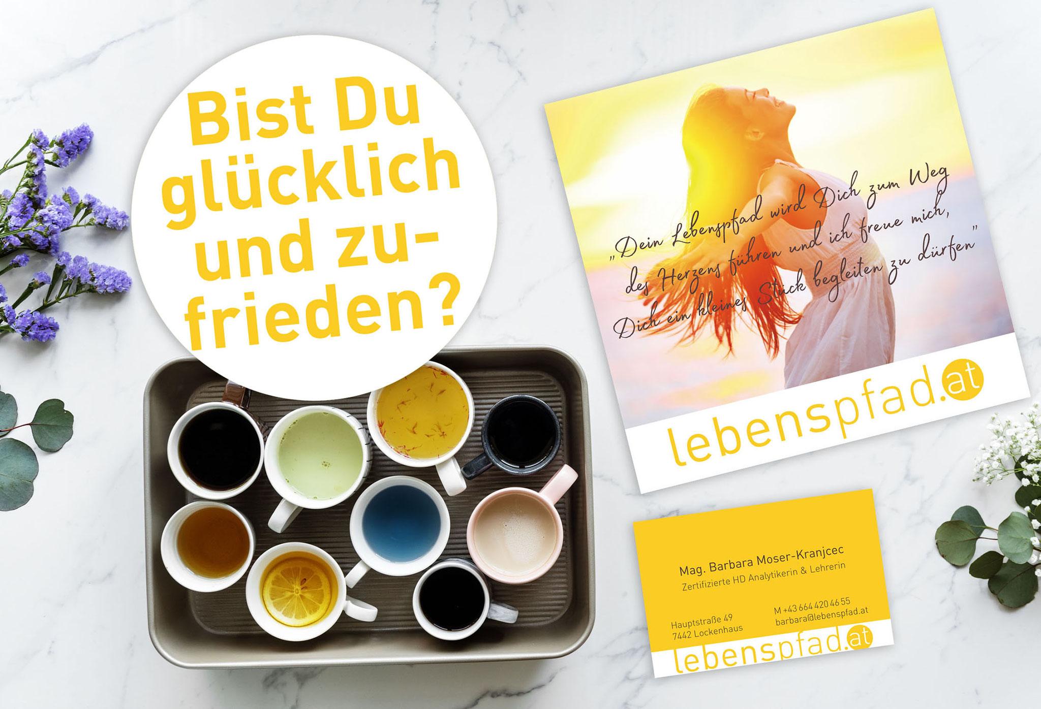 lebenspfad.at | CI, Flyer, Website