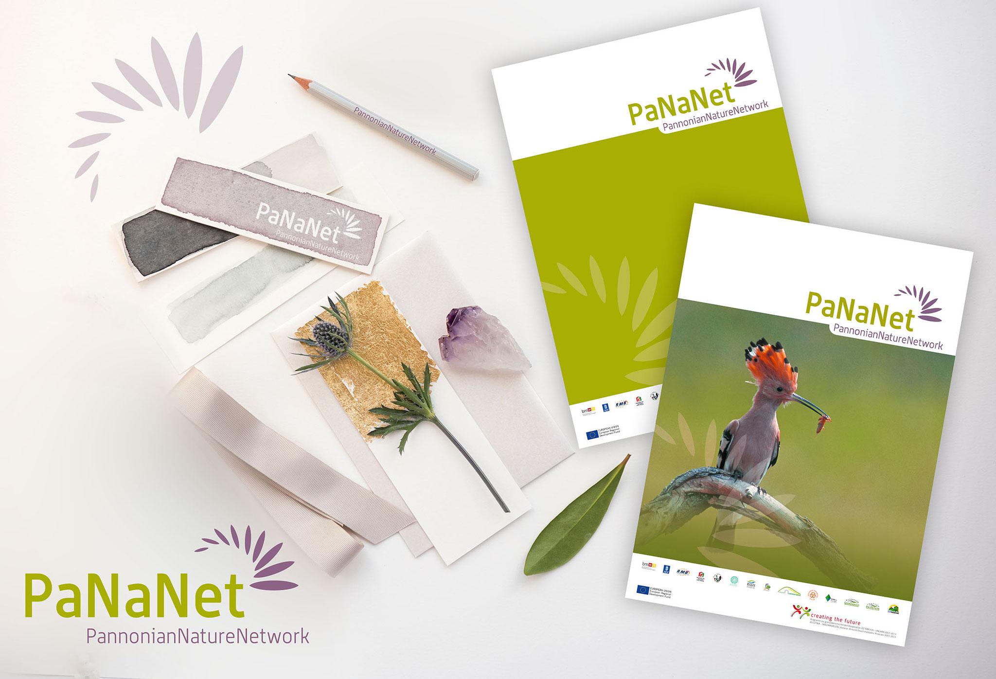 PaNaNet | Logo, CI, Werbekampagne