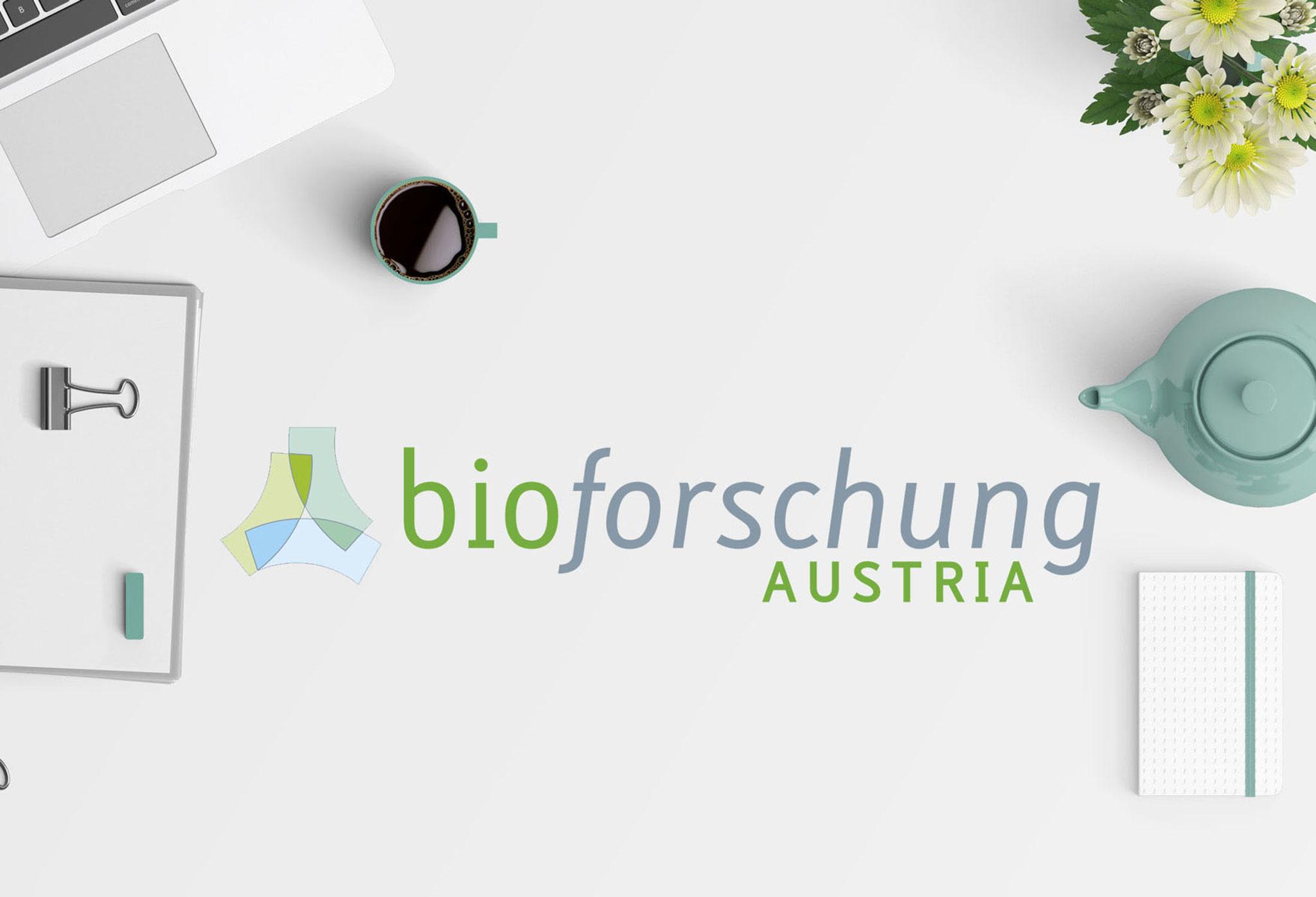 bioforschung | Logo & CI