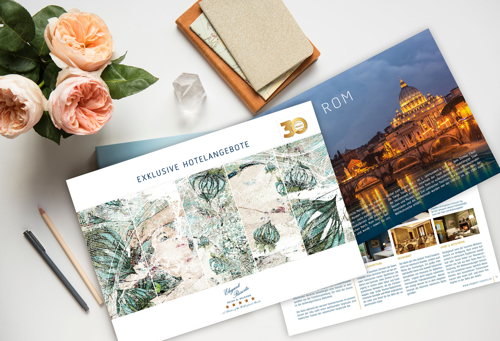 Elegant Resorts | Katalog, Website
