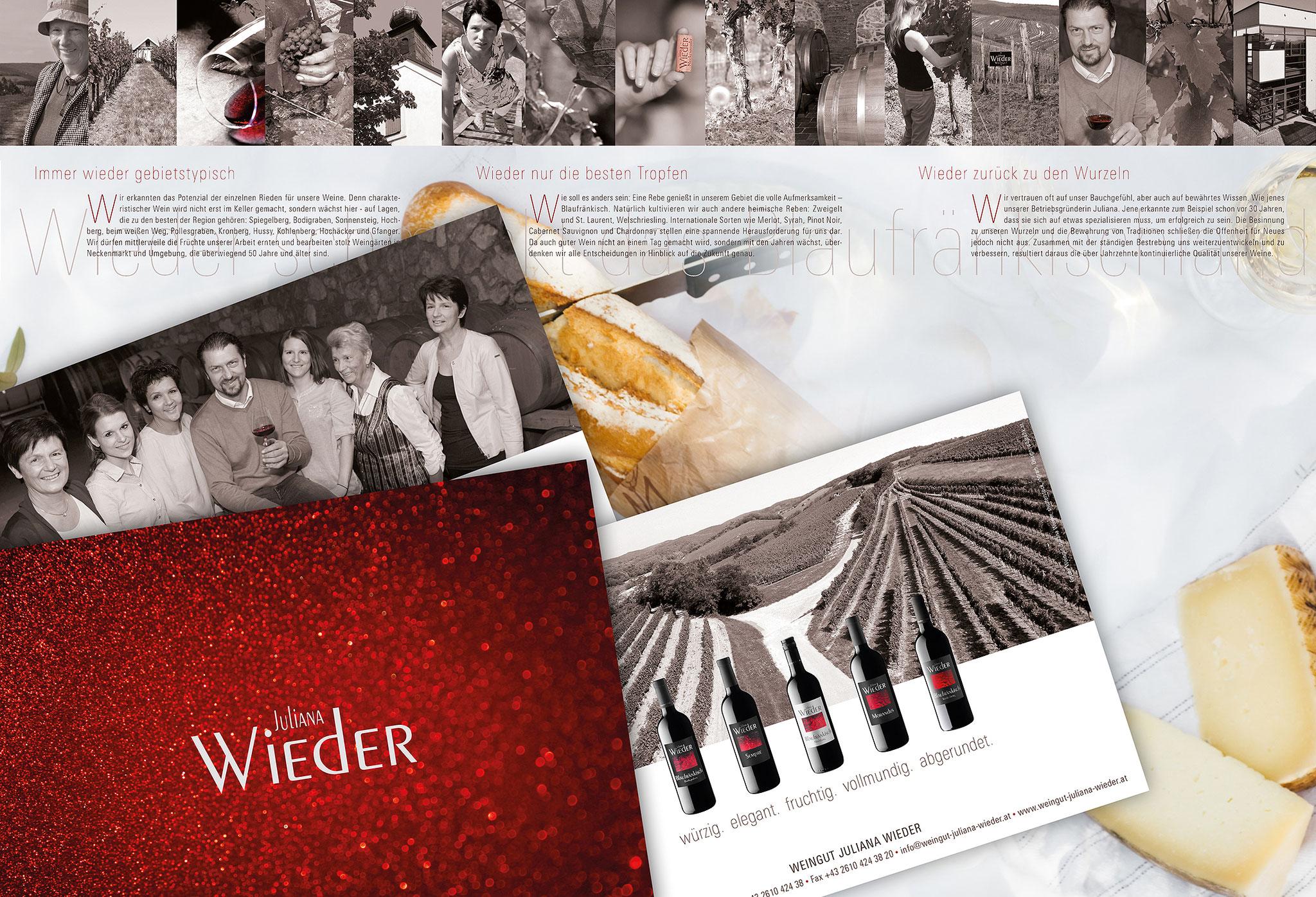 Weinbau Wieder | Folder