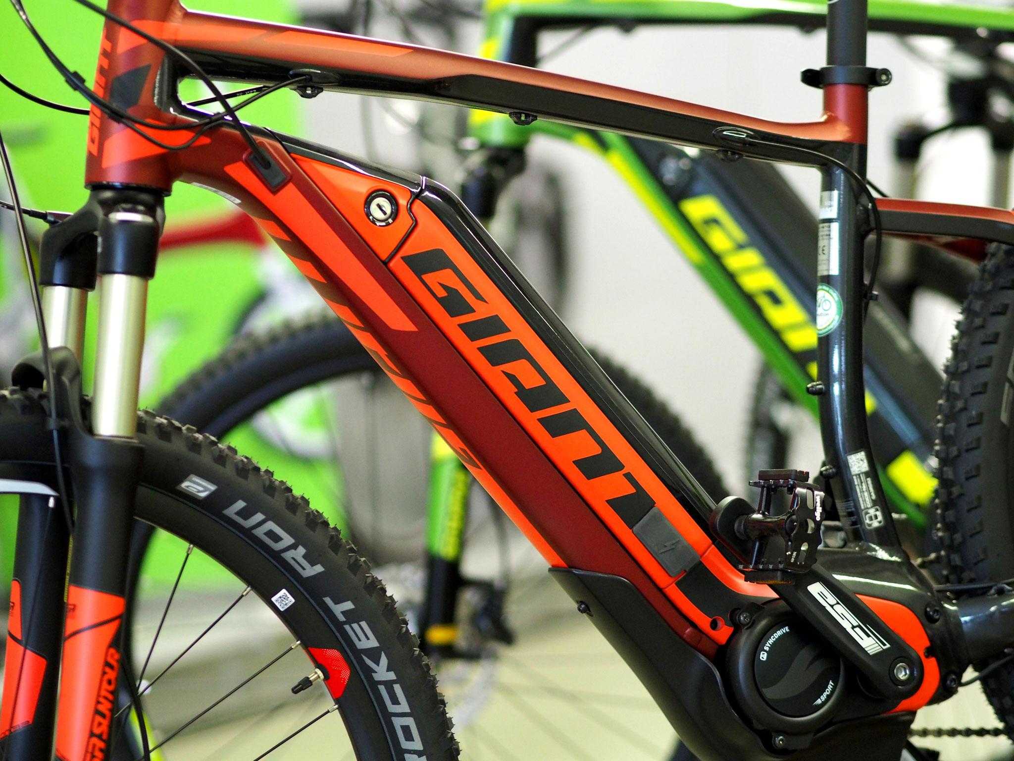 e-Bikes, Pedelecs und Elektrofahrräder von namenhaften Premiumherstellern wie Giant - hier bei uns in Gießen!