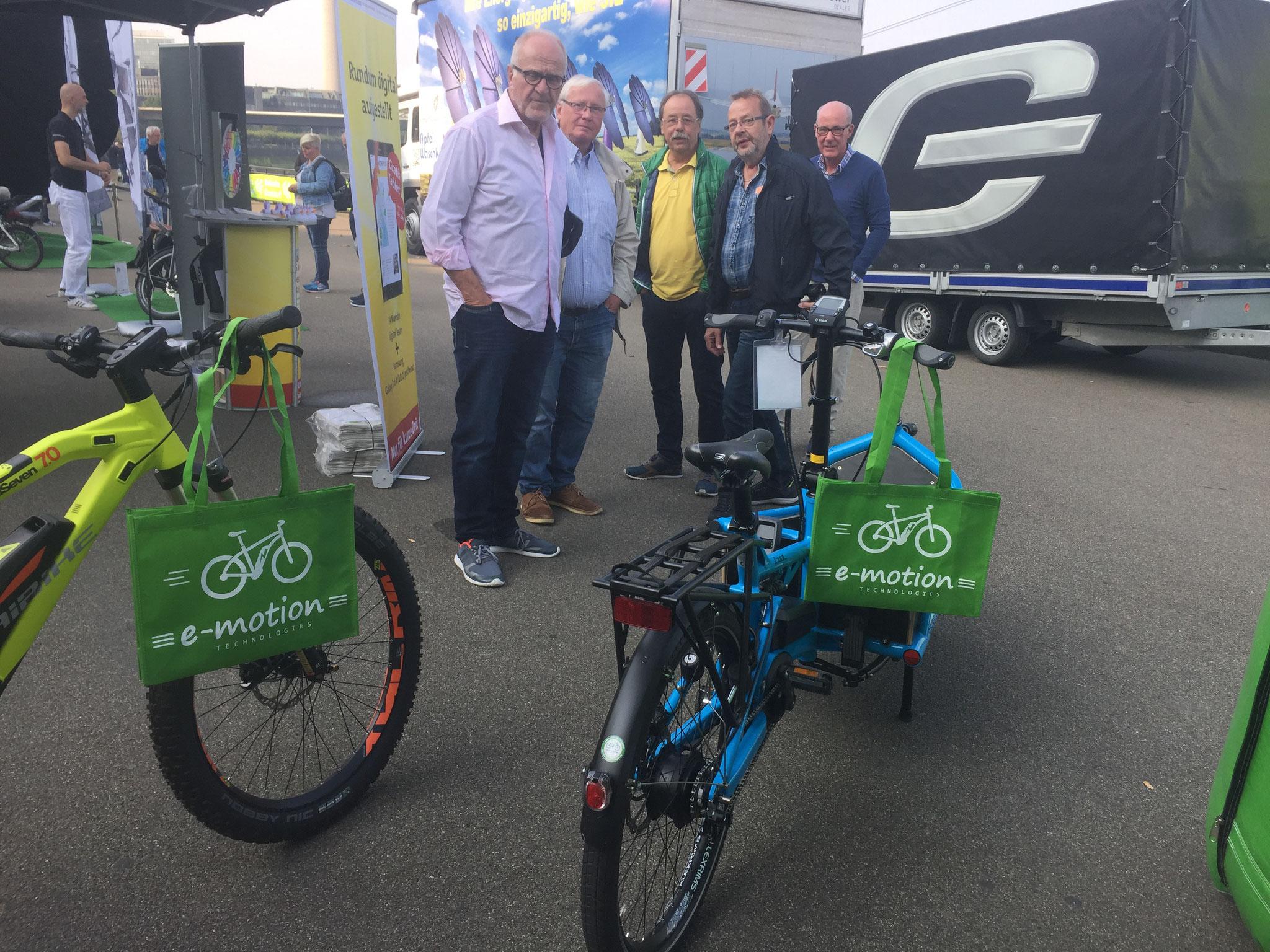 eCross Germany in Düsseldorf mit den e-Bike Experten der e-motion e-Bike Welt Düsseldorf