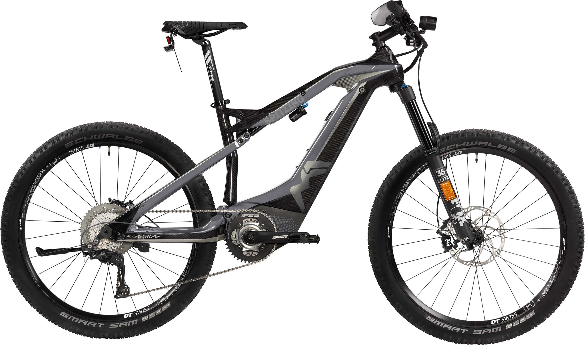 M1 Spitzing Evolution S-Pedelec 2020 - cliff gray/carbon