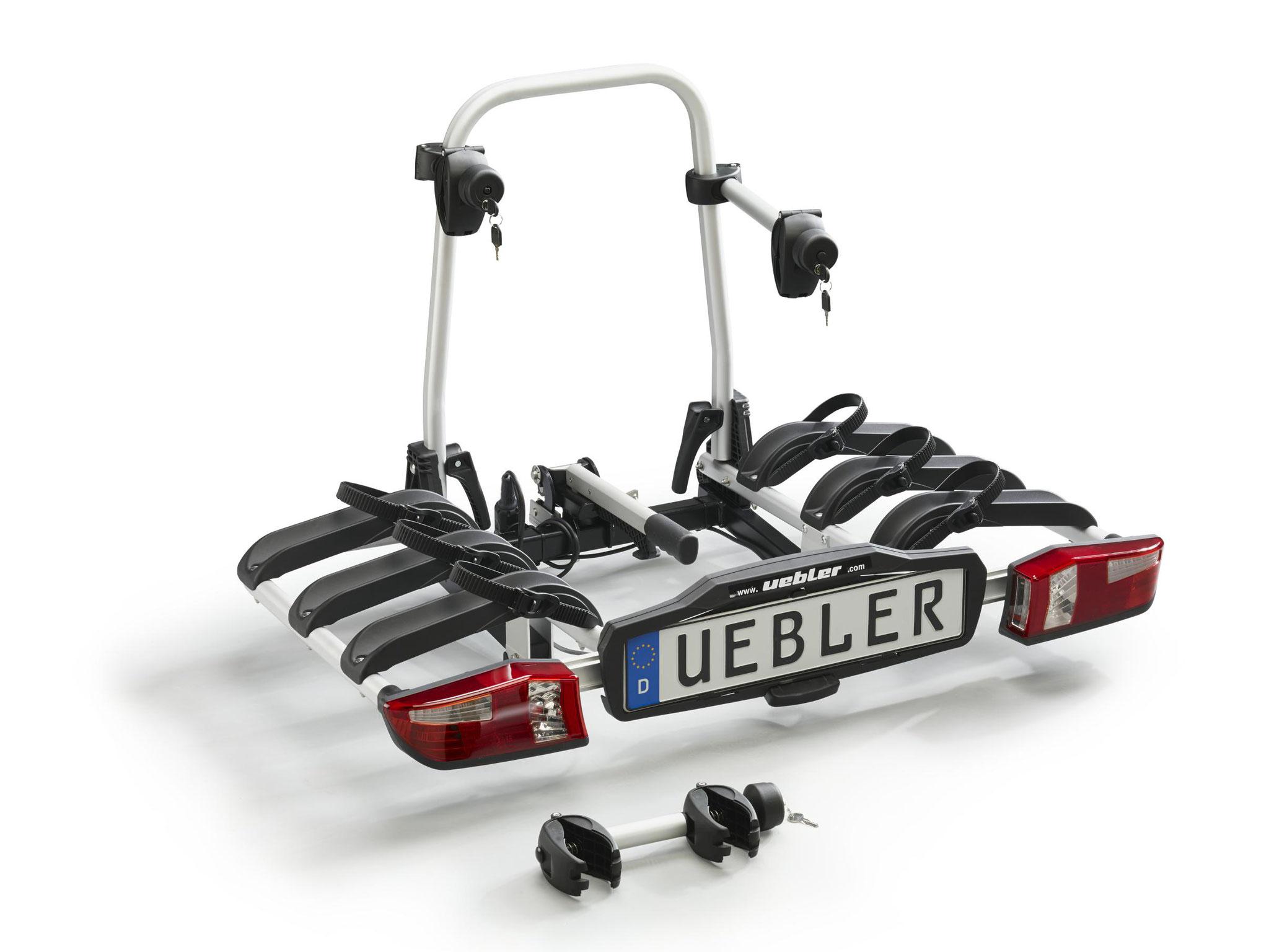 Uebler Fahrradheckträger P32 S für 3 e-Bikes