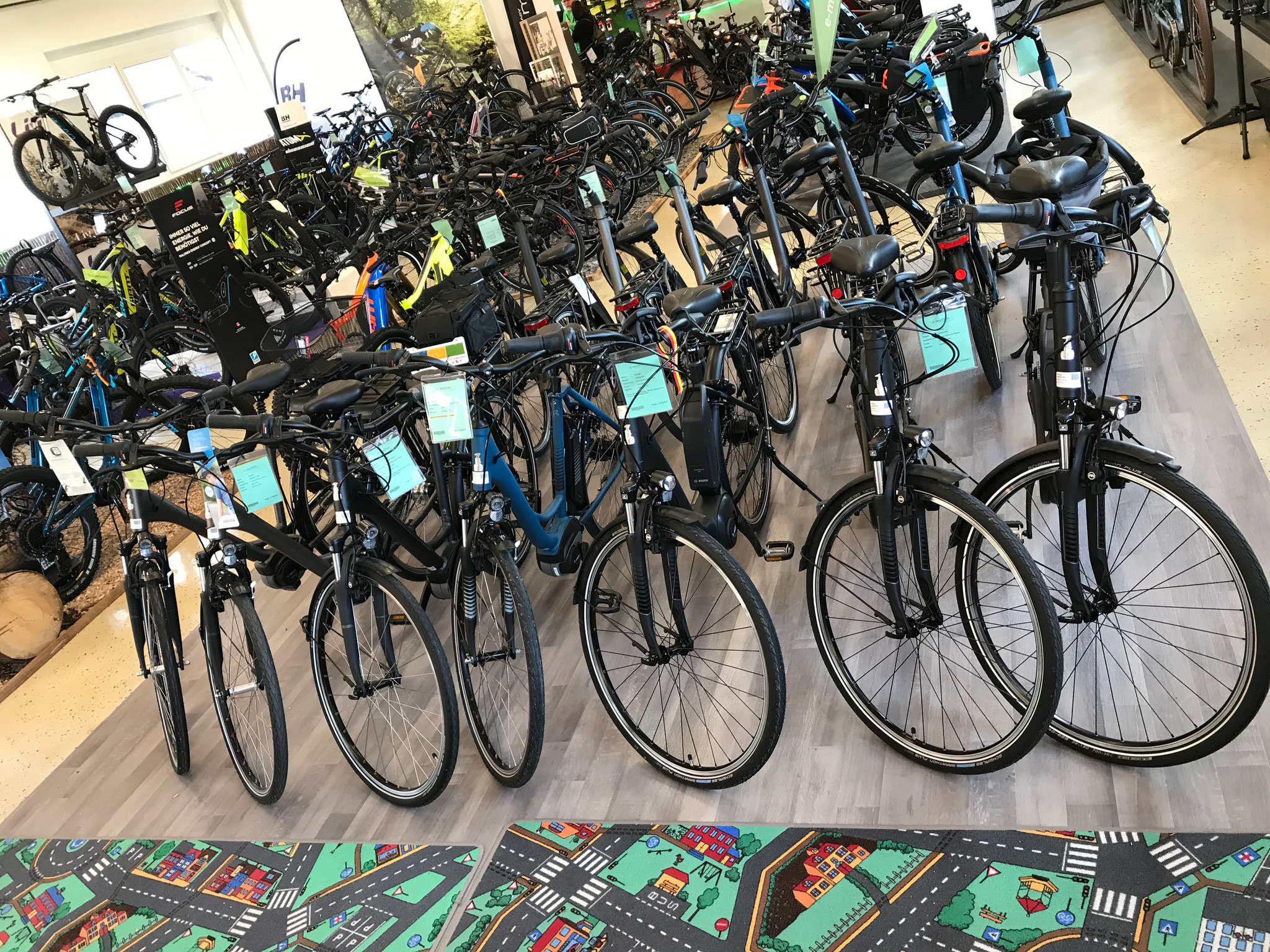 Unsere City e-Bike Welt