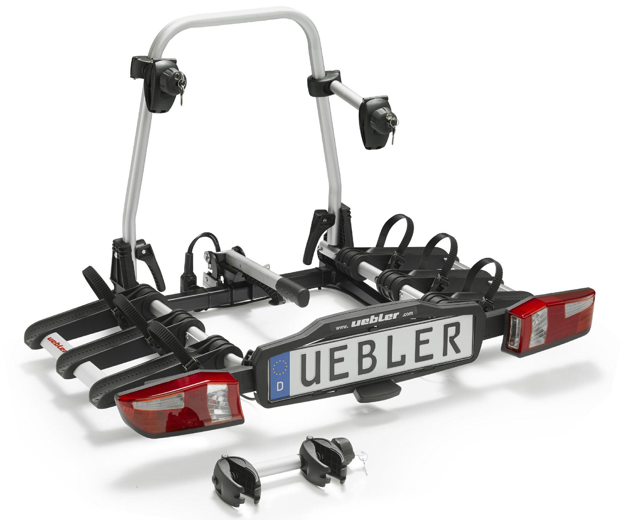 Uebler Fahrradheckträger X31 S für 3 e-Bikes