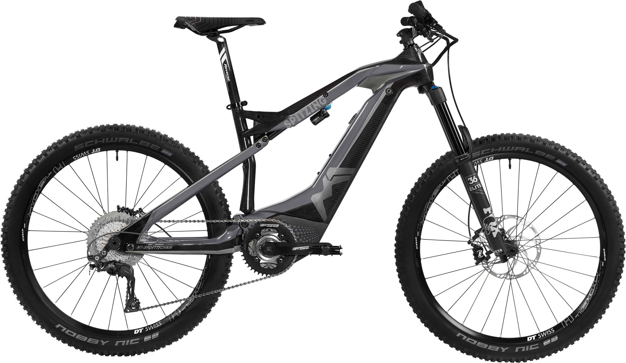 M1 Spitzing Evolution R-Pedelec 2020 - cliff gray/carbon