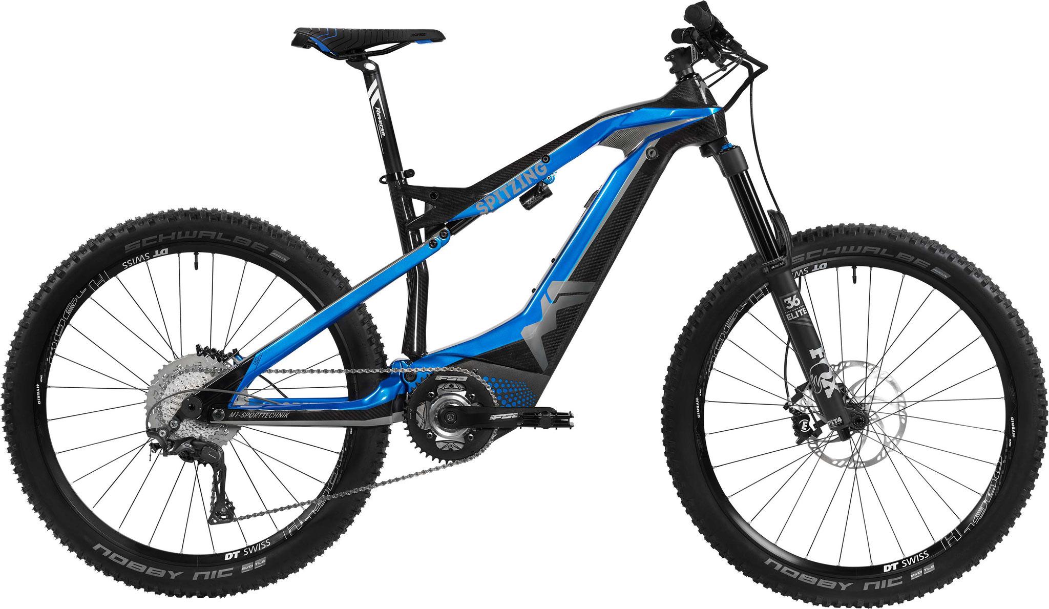 M1 Spitzing Evolution R-Pedelec 2020 - candy blue/carbon