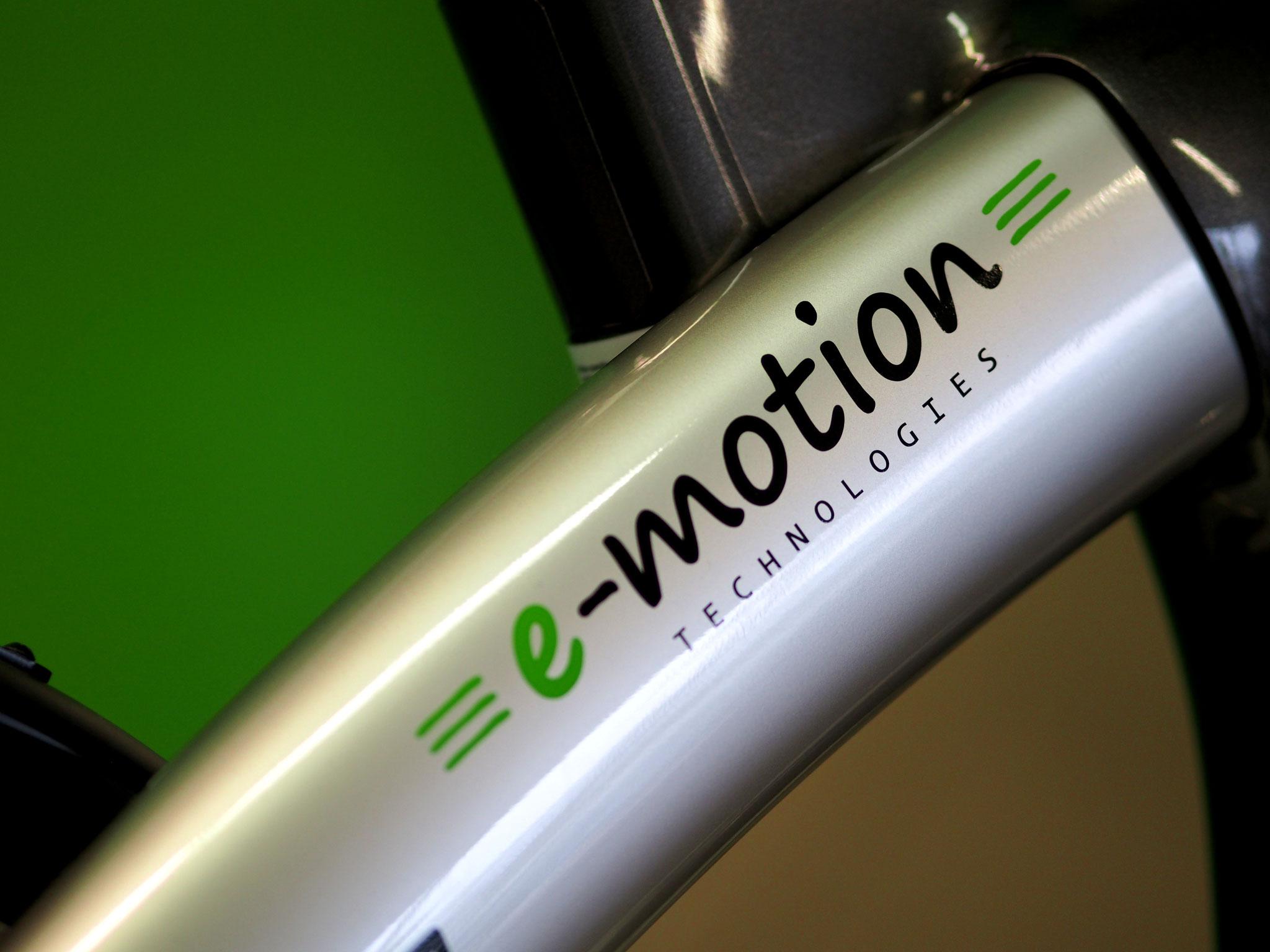 Ihr kompetenter Ansprechpartner in Serviceangelegenheiten für e-Bikes, Pedelecs und ELektrofahrräder - die e-motion e-Bike Welt Gießen