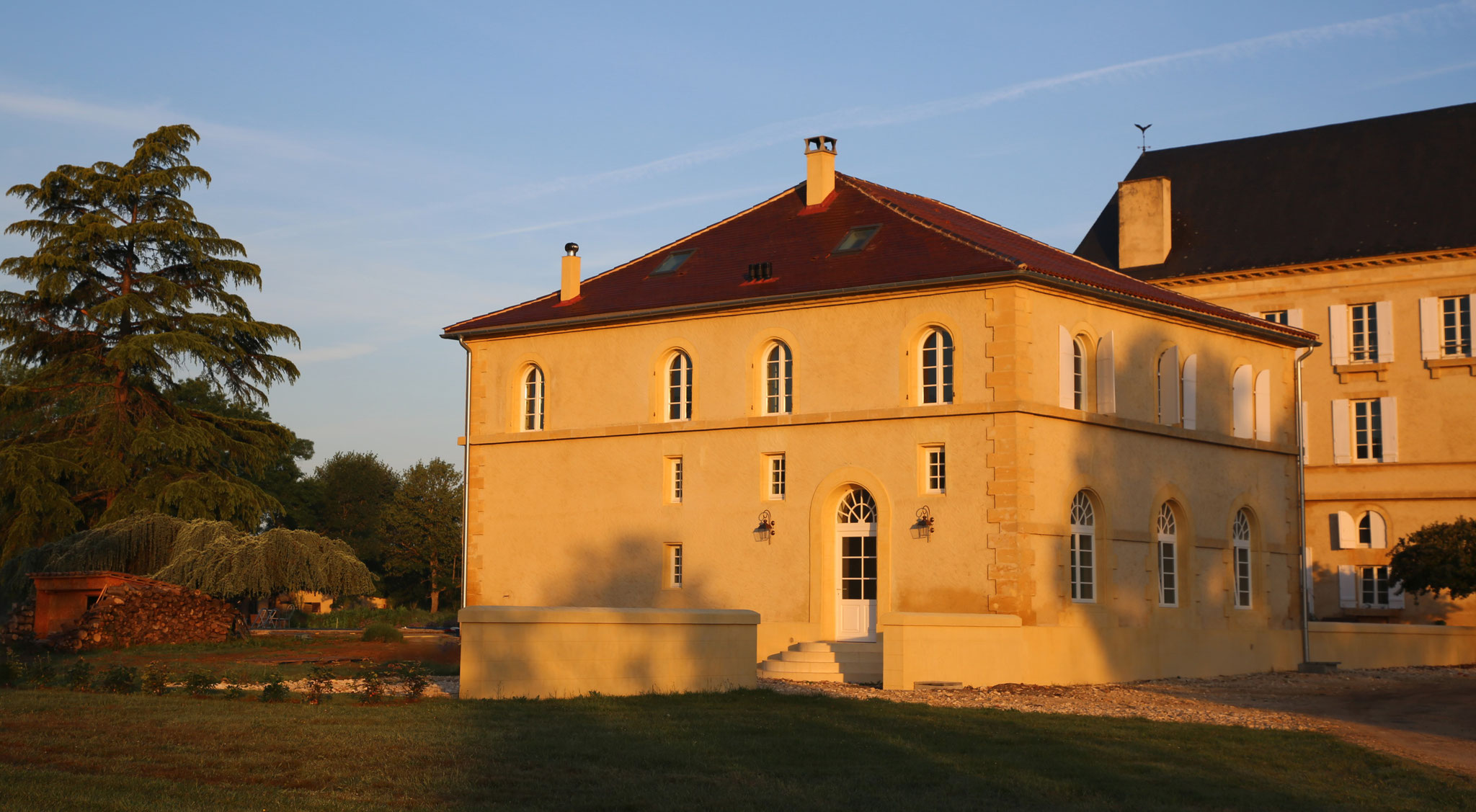 Projet réalisé en collaboration avec le Château de Monboucher 24680 Lamonzie Saint Martin
