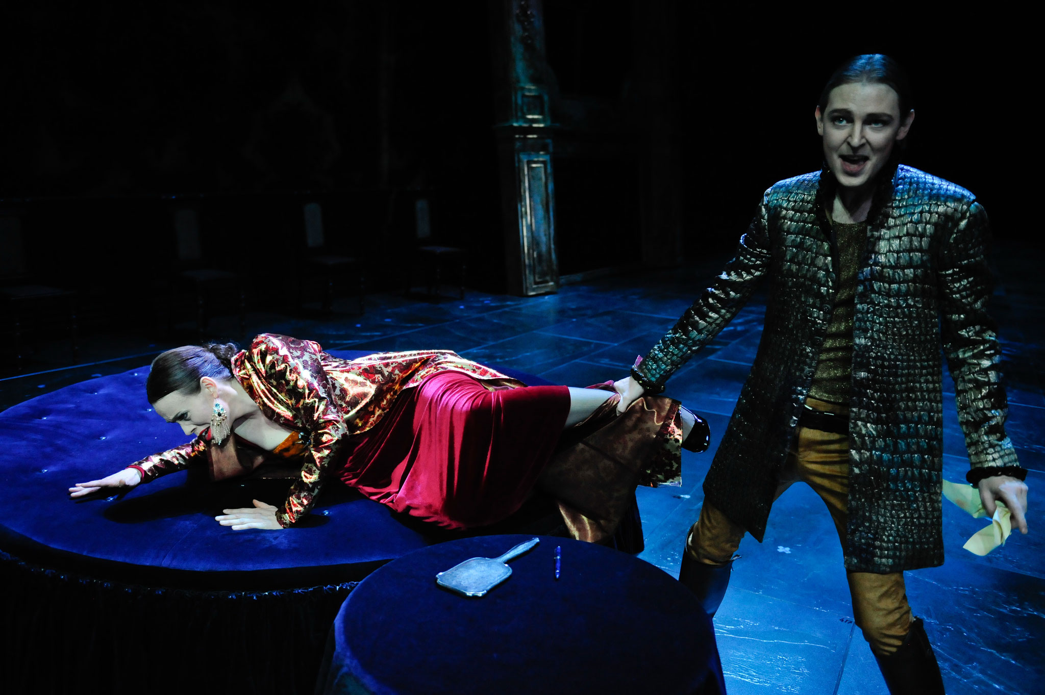 The Duchess of Malfi, with Yestyn Morris, Foto: Dieter Wuschanski