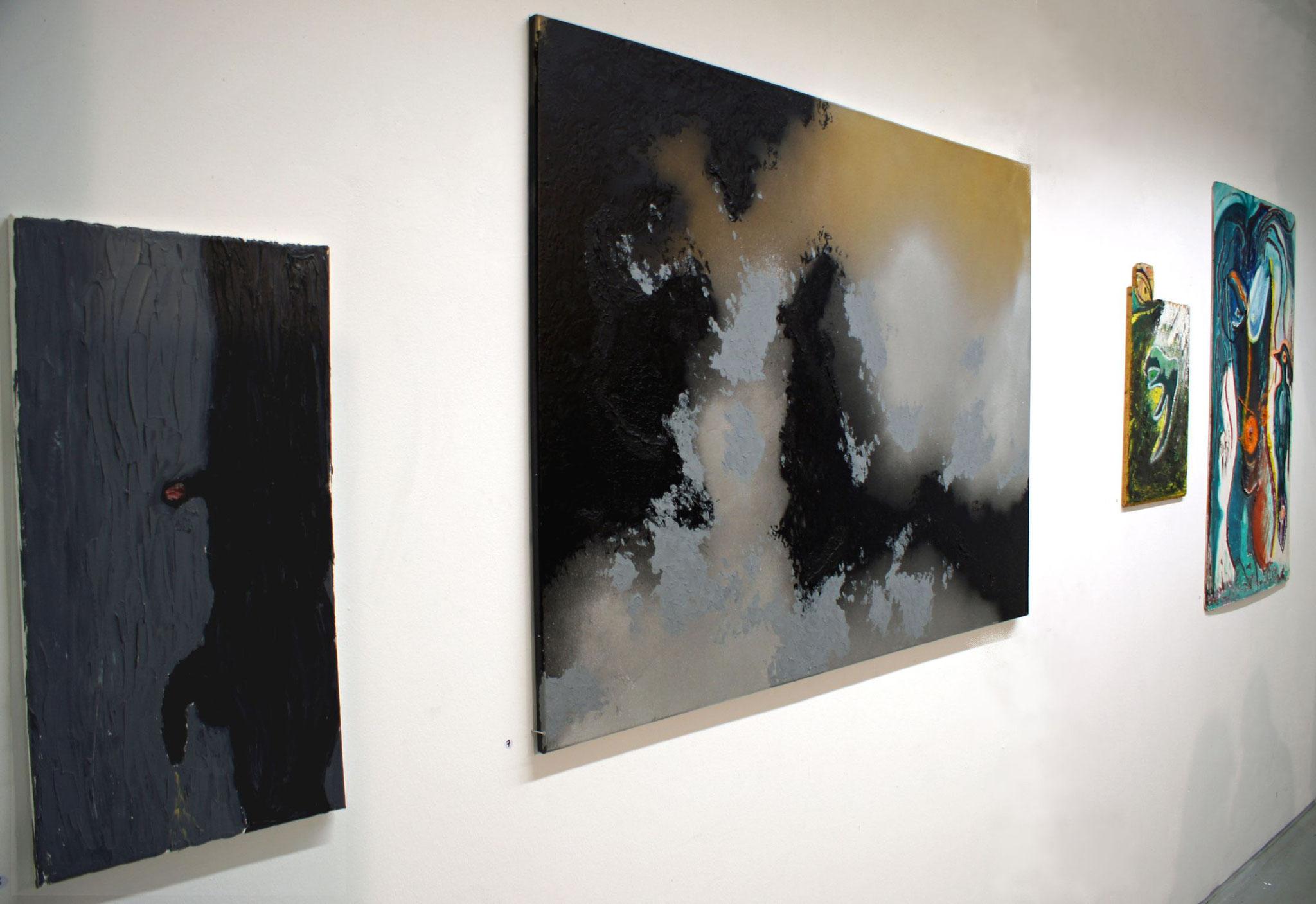 "vlnr: Aziz Onuk, Frau Fenster ""Landscape"", 2x Aziz Onuk"