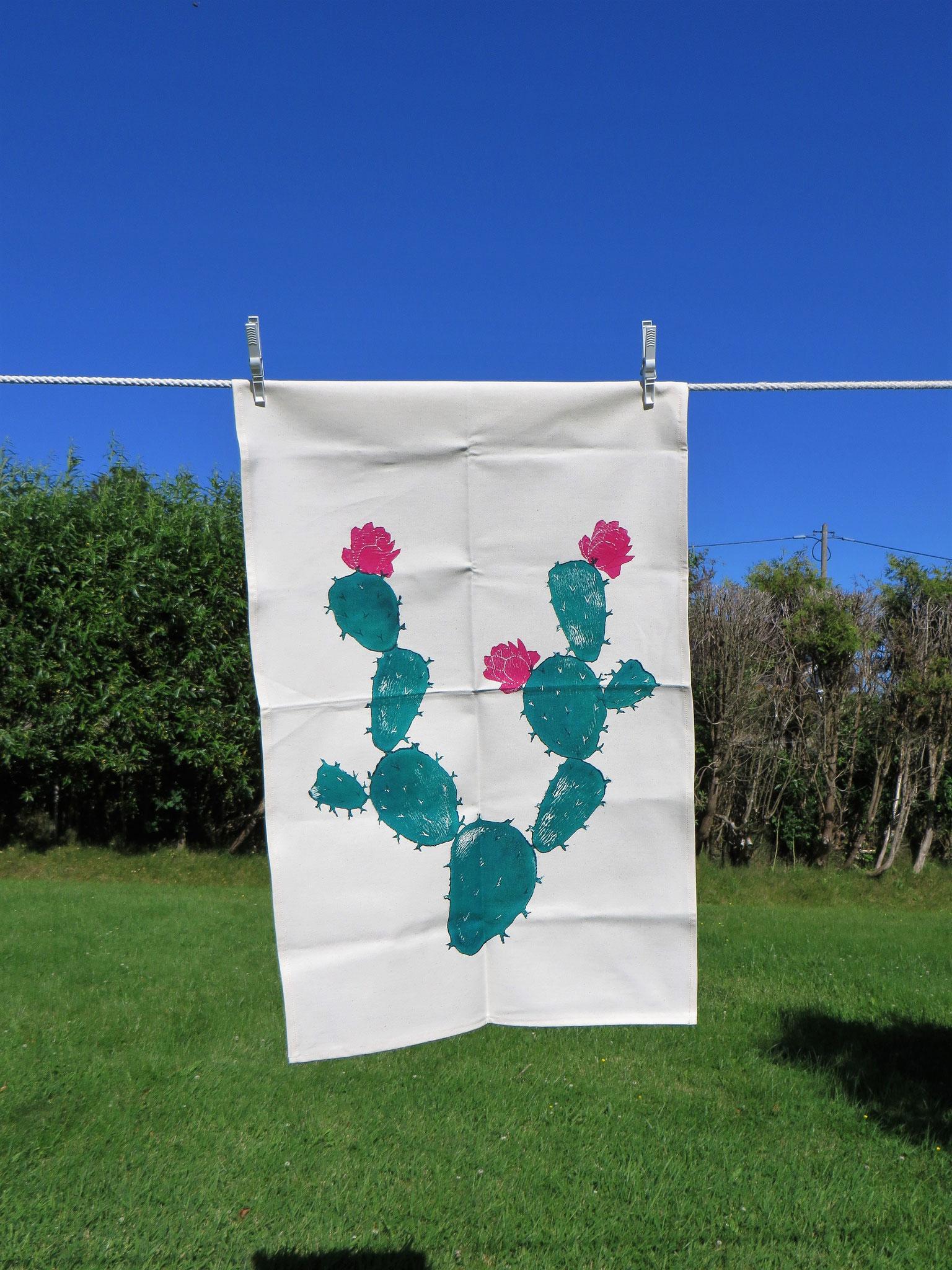 "Tea Towel ""Prickly Pear"""