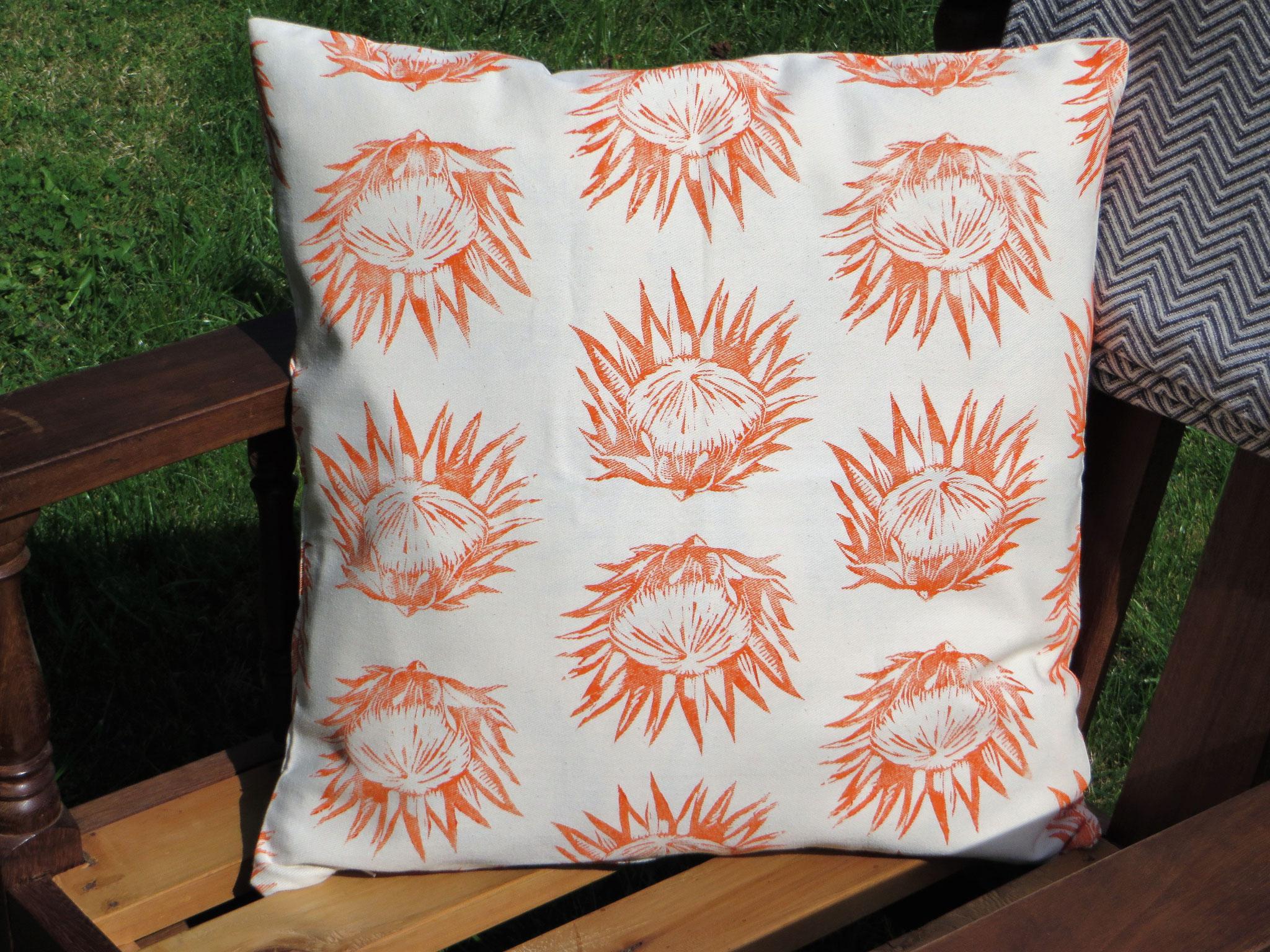 """Cushion Cover """"Protea"""""""