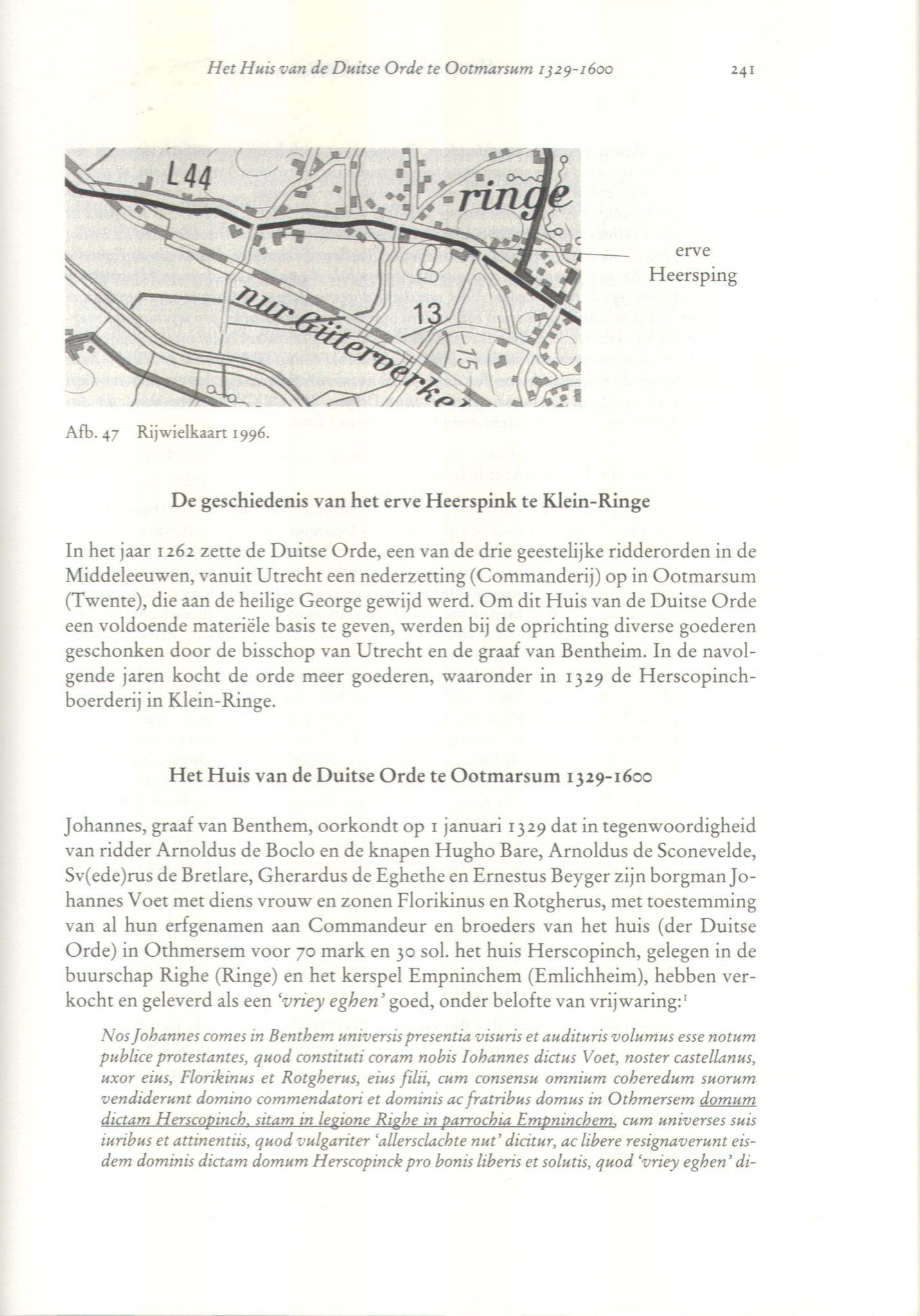 fragment Heerspink te Klein-Ringe