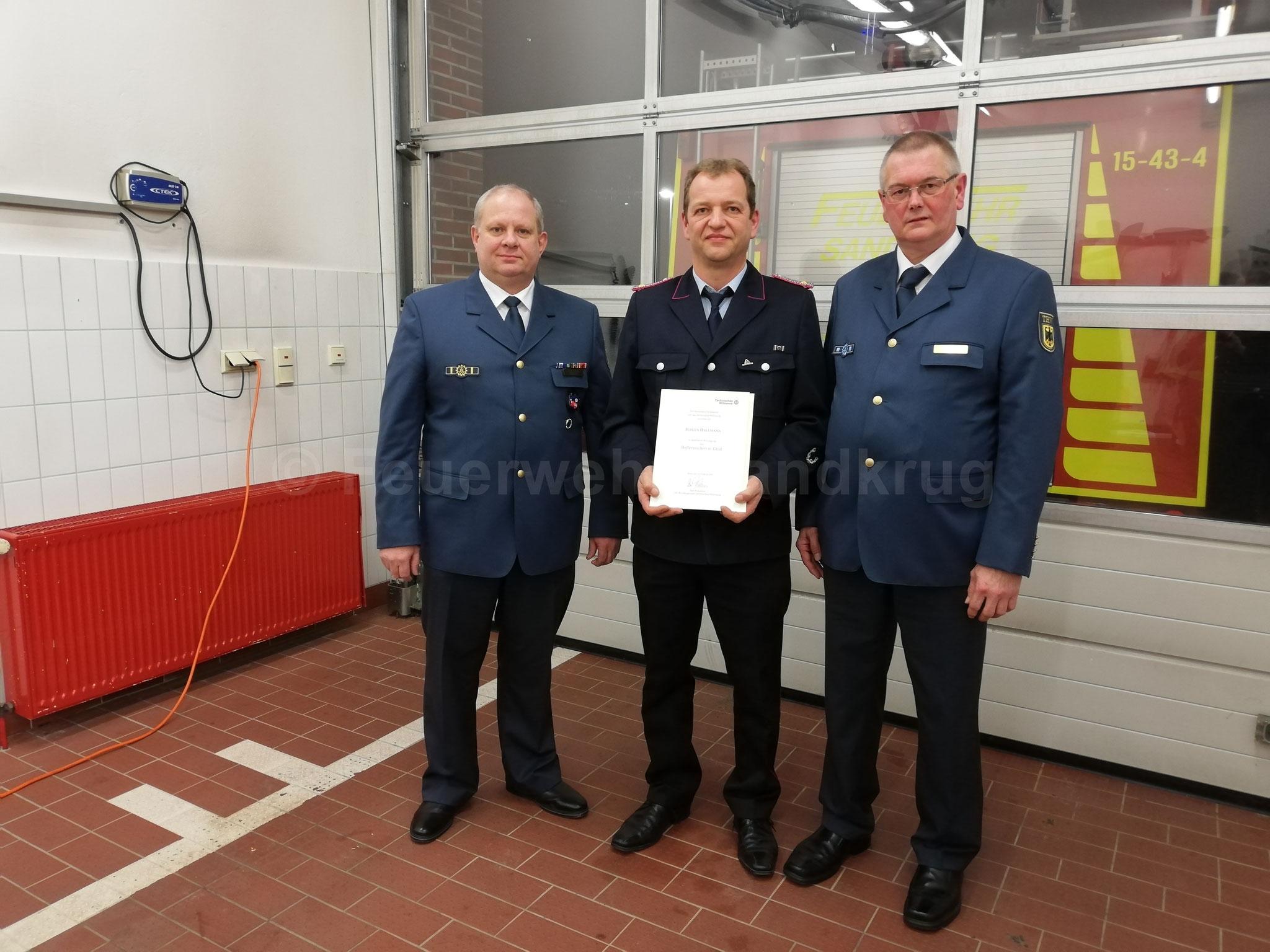 (von links) Gerold Wulf, Jürgen Dallmann, Dirk Fürst.