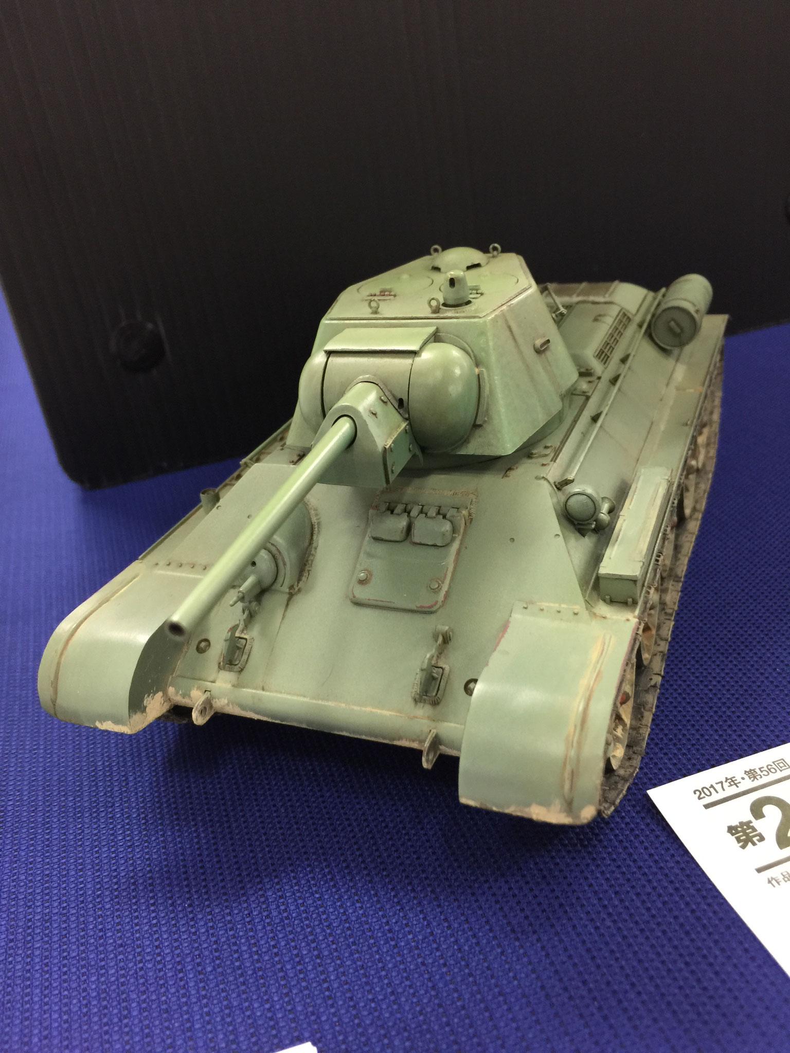 「T34/76」 カルロス キャモ さん