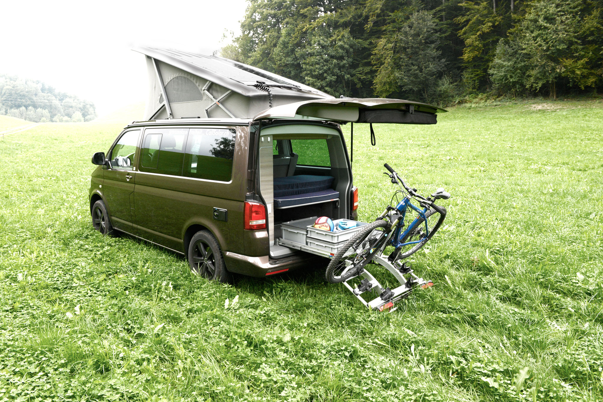 fahrradtr ger f r anh ngerkupplung vw. Black Bedroom Furniture Sets. Home Design Ideas