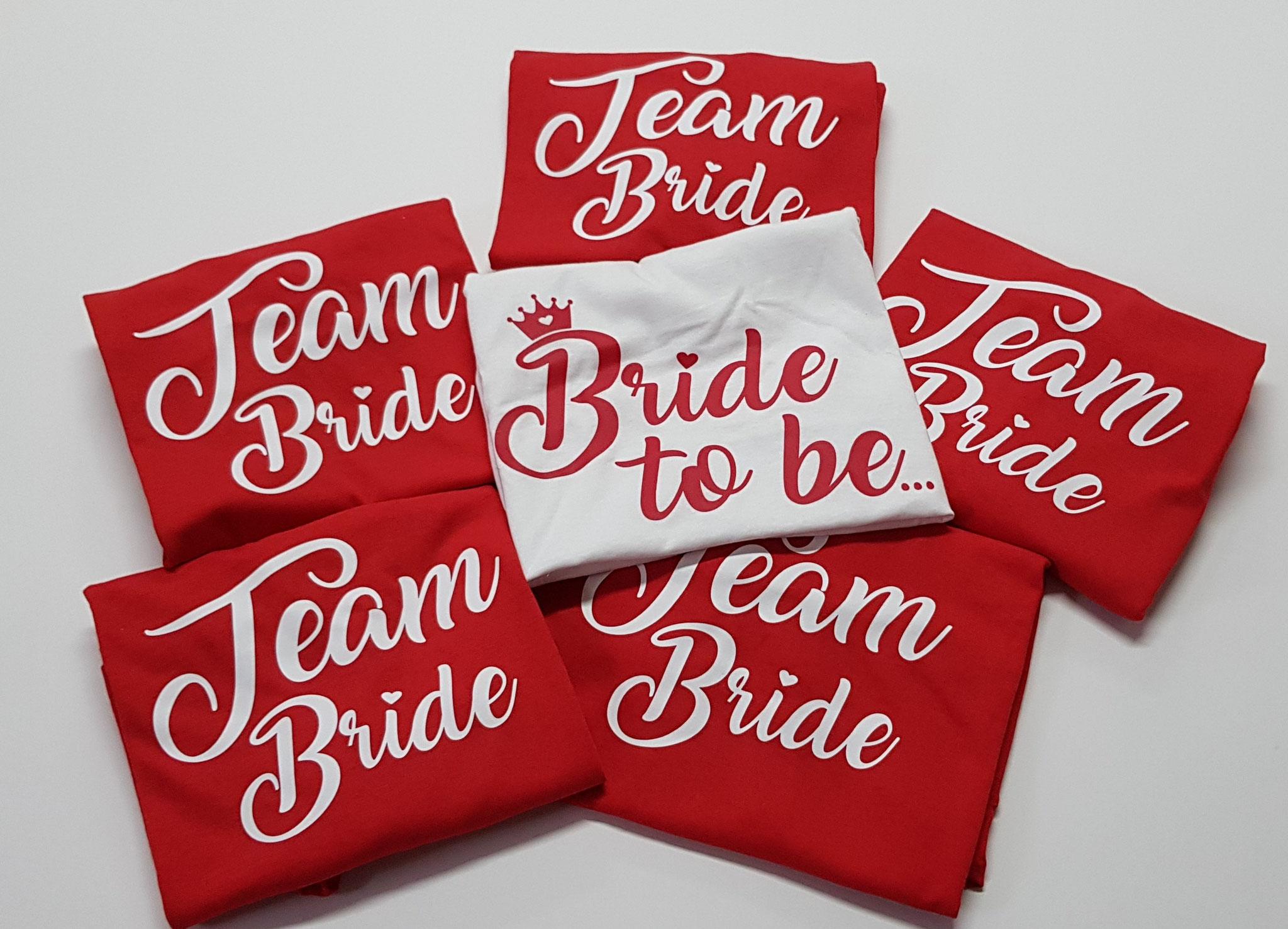 T-Shirt per amiche della sposa